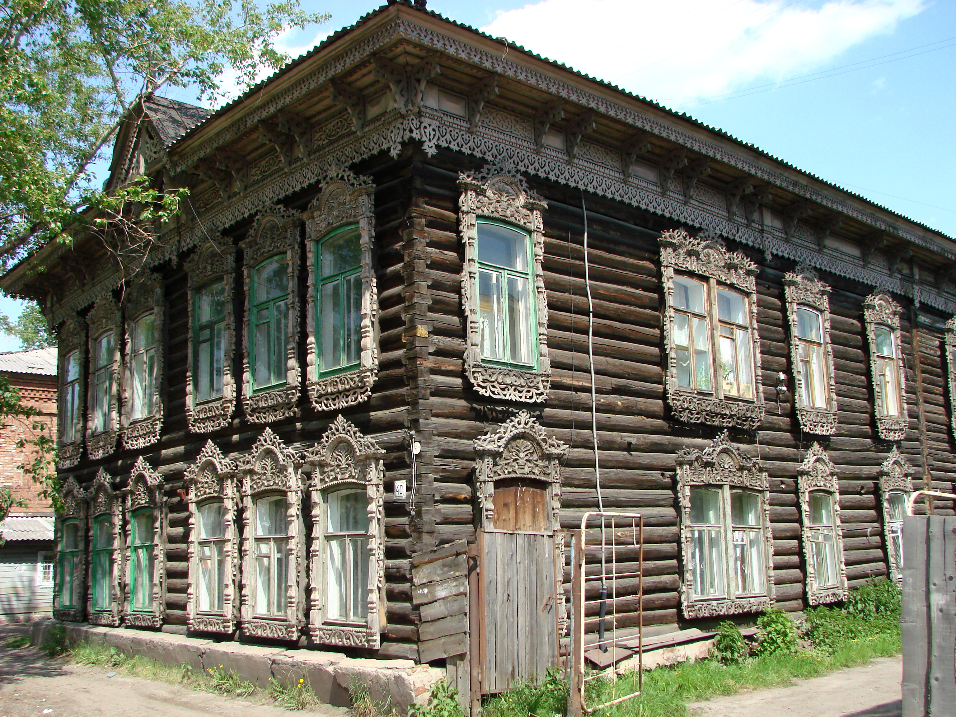 Interior Design Styles For Small House File Traditional Wooden House In Tomsk Siberia Russia