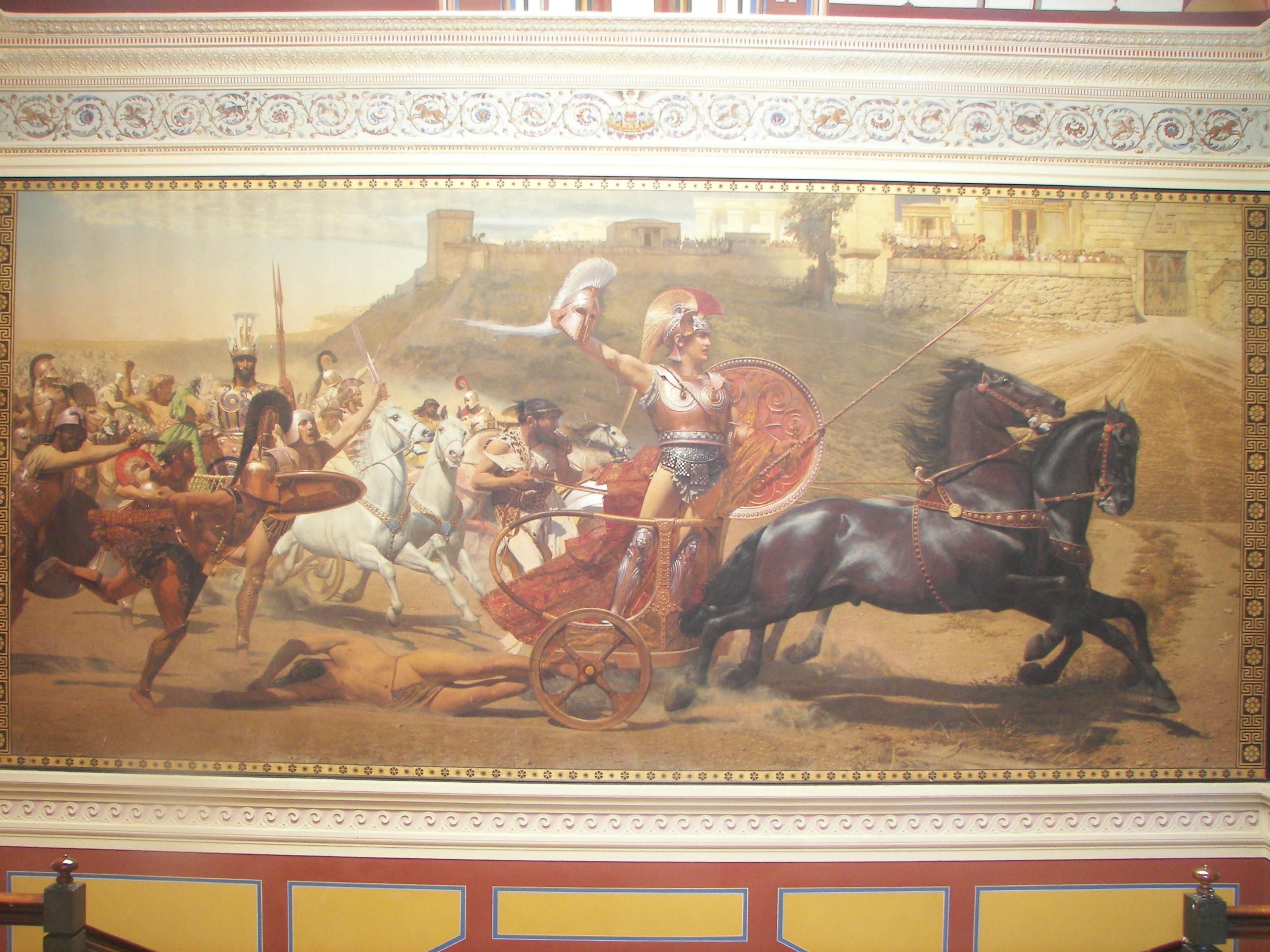 File:Triumphant Achilles in Achilleion.jpg - Wikimedia Commons