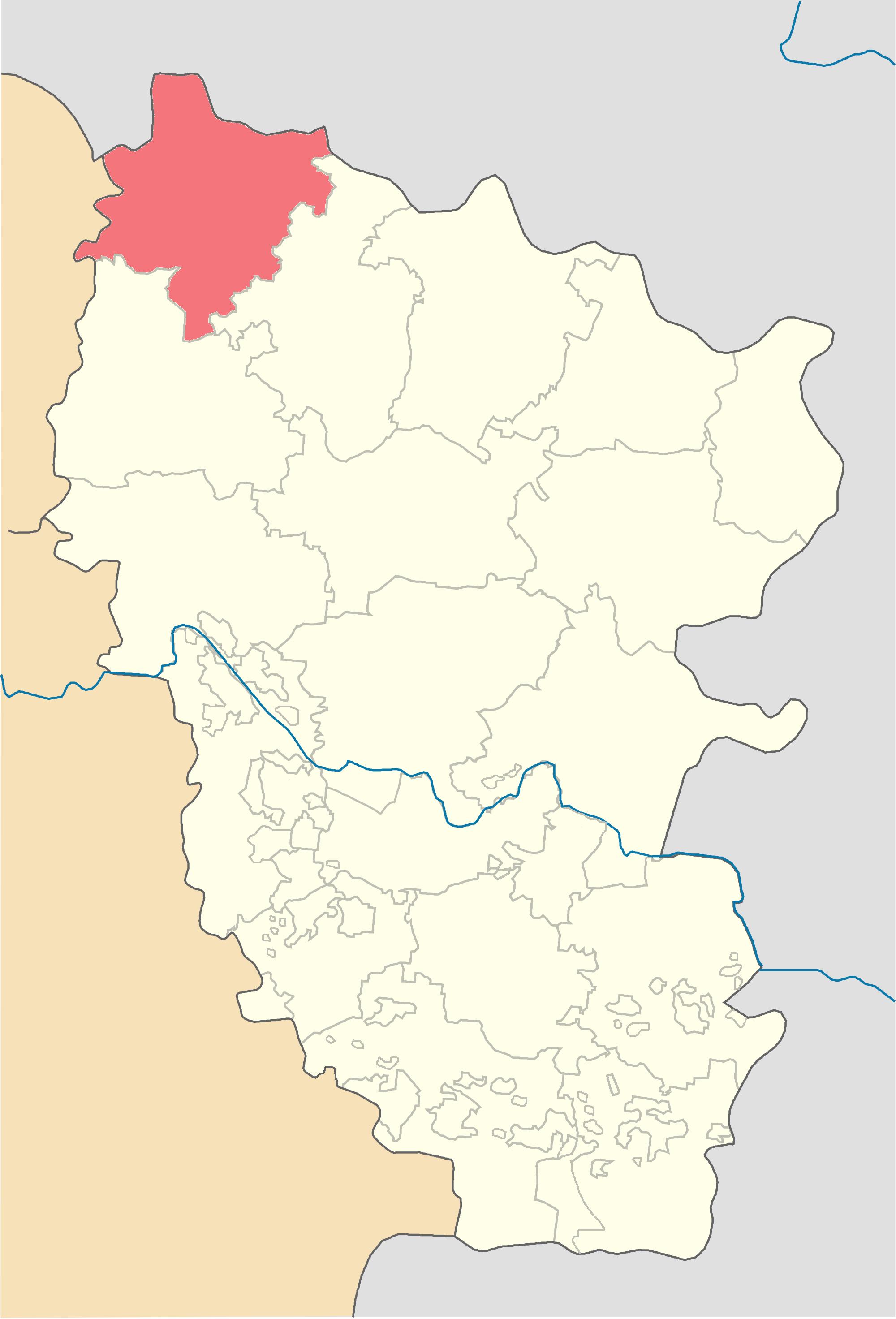 Троицкий район, карта