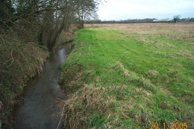 Tudeley Brook near East Peckham - geograph.org.uk - 70547