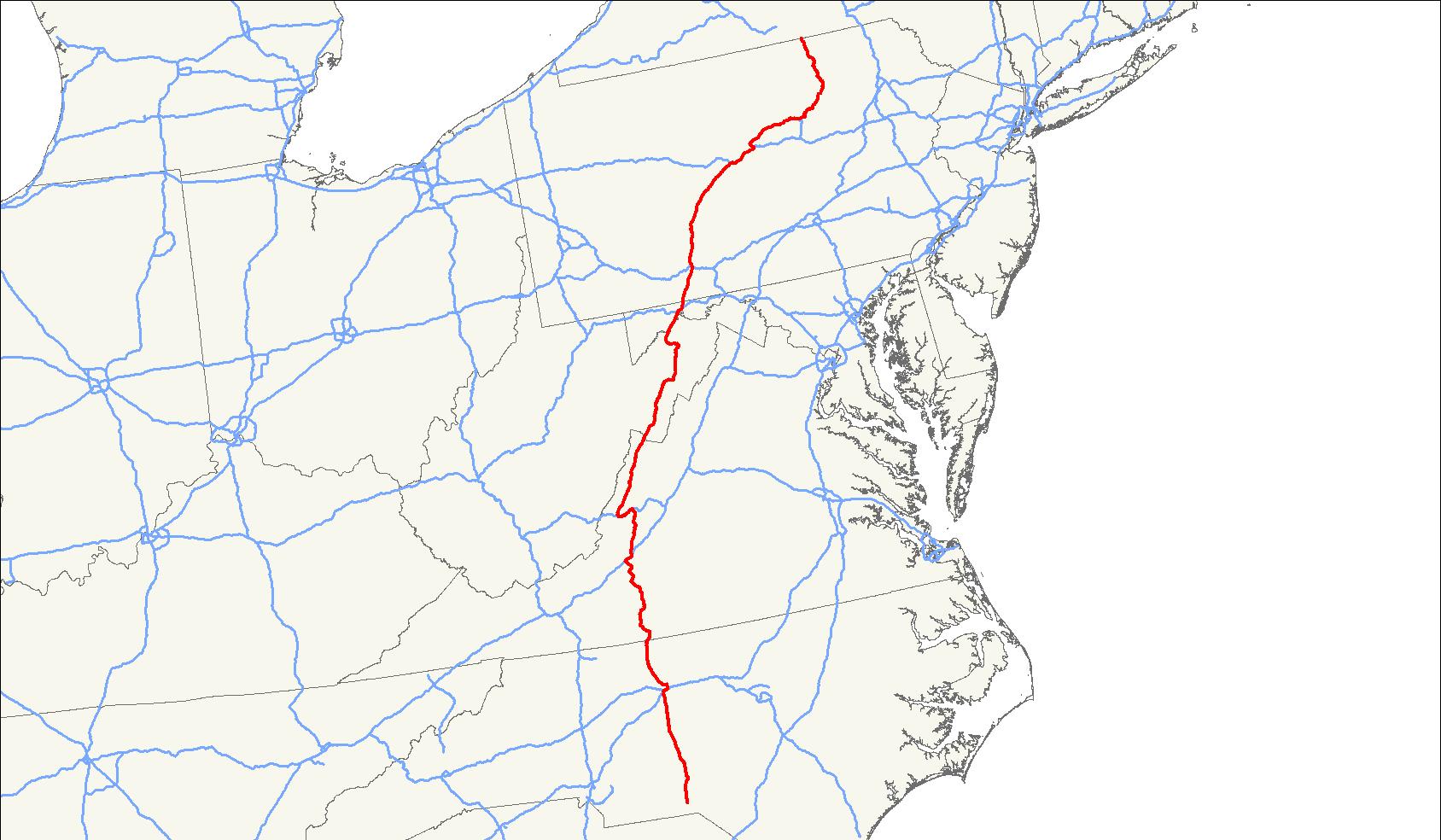 U S Route 220 Wikipedia