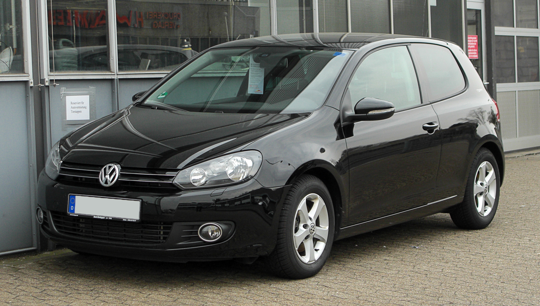 file vw golf 1 4 tsi team vi frontansicht 26 m rz. Black Bedroom Furniture Sets. Home Design Ideas