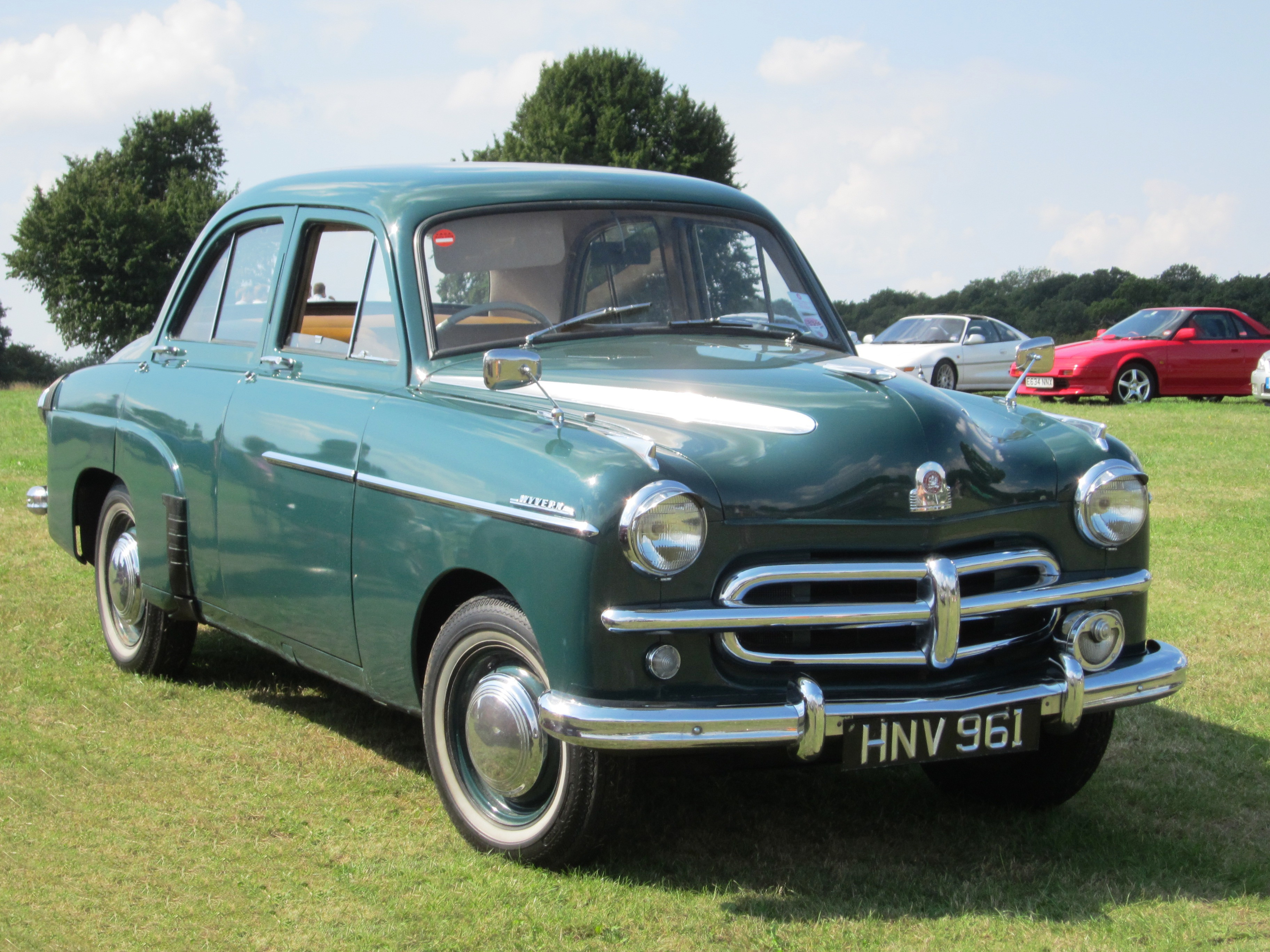 1948 Vauxhall Wyvern Related Infomation Specifications