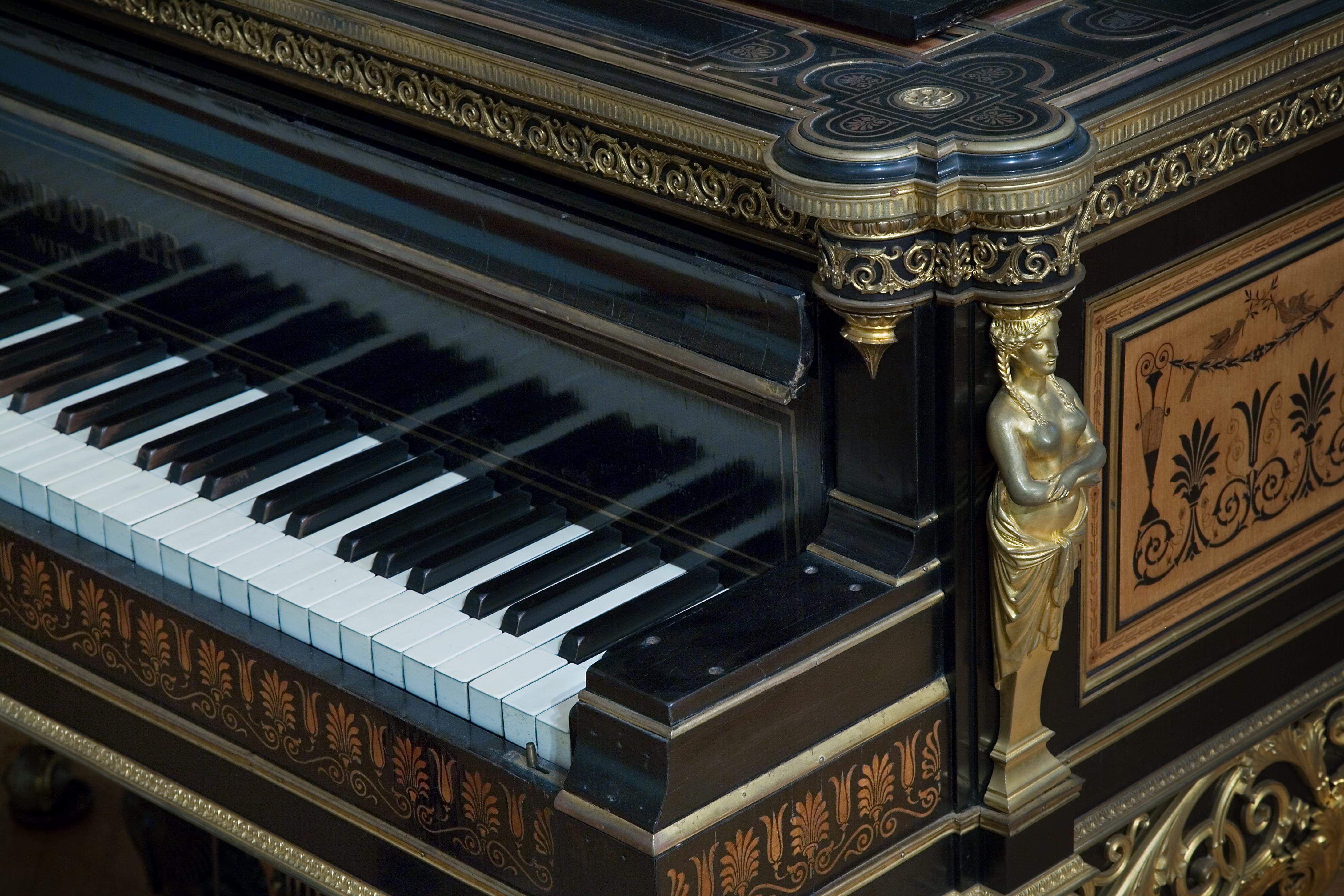 File Vienna Bosendorfer Grand Piano Keyboard Detail