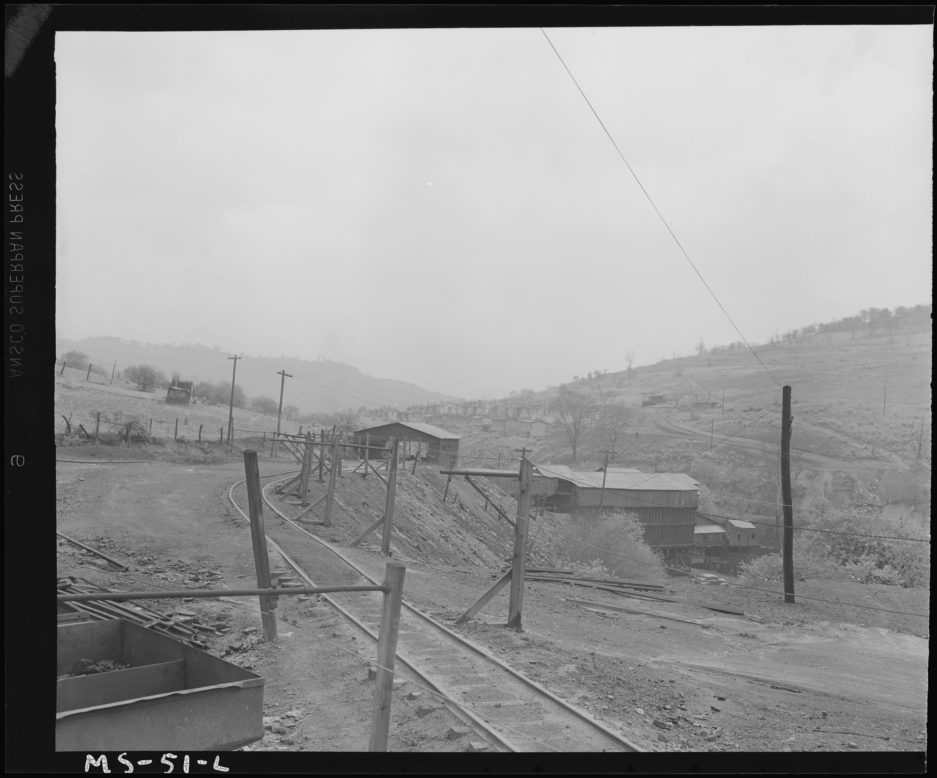 File:View at mine  Louise Coal Company, Louise Mine, Osage