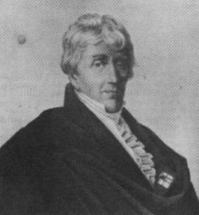 Franz Gerhard Wegeler (1765-1848), médico y amigo desde la infancia de Beethoven.