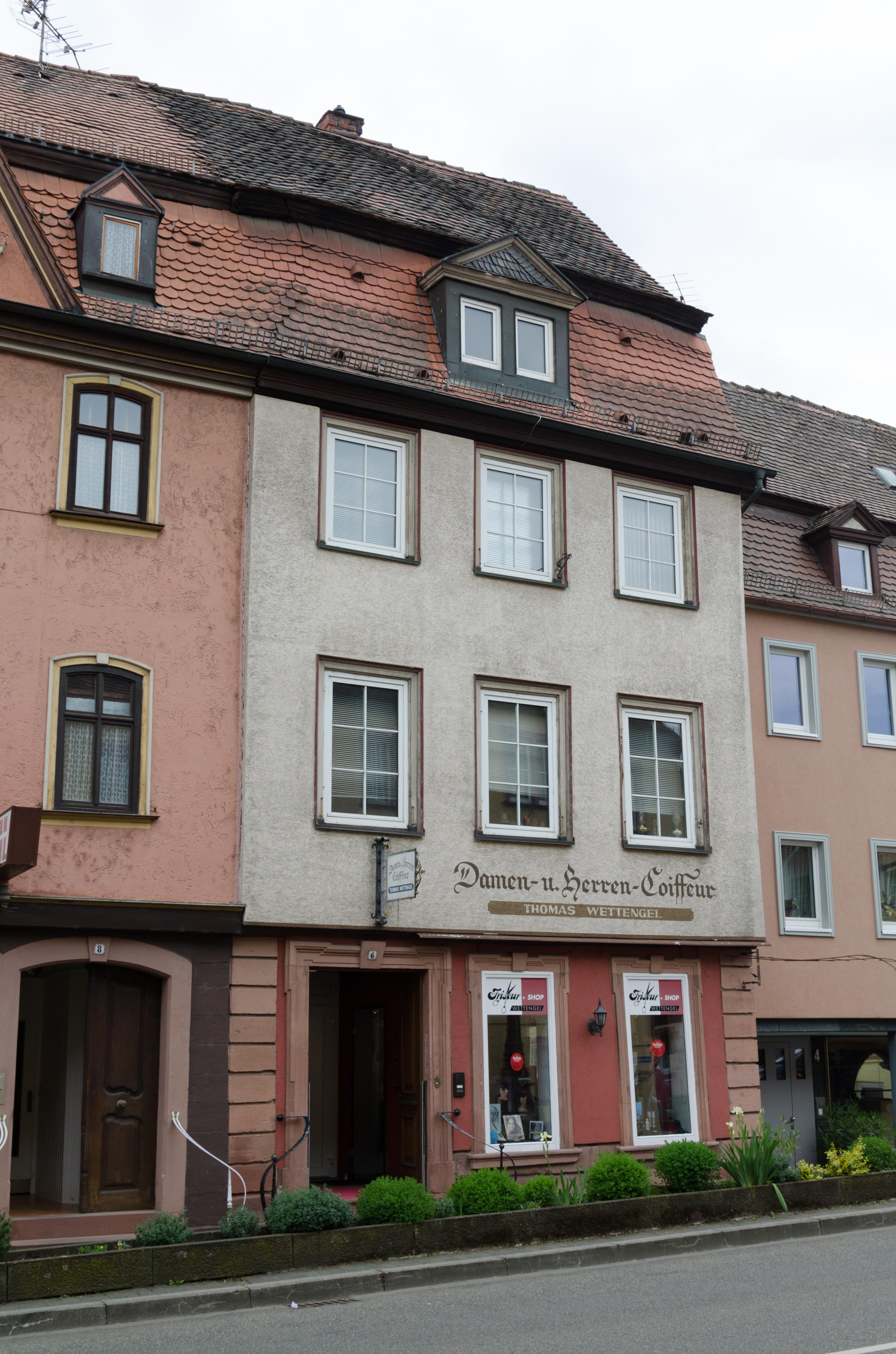 File Wertheim Lindenstrasse 6 001 Jpg Wikimedia Commons