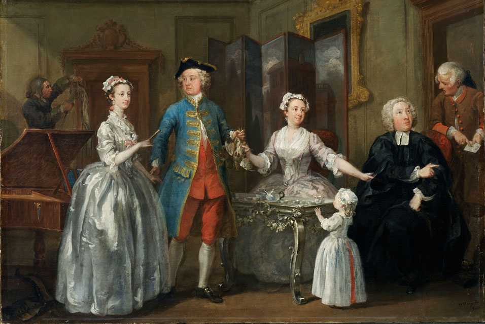 File William Hogarth The Western Family  C 1738  National
