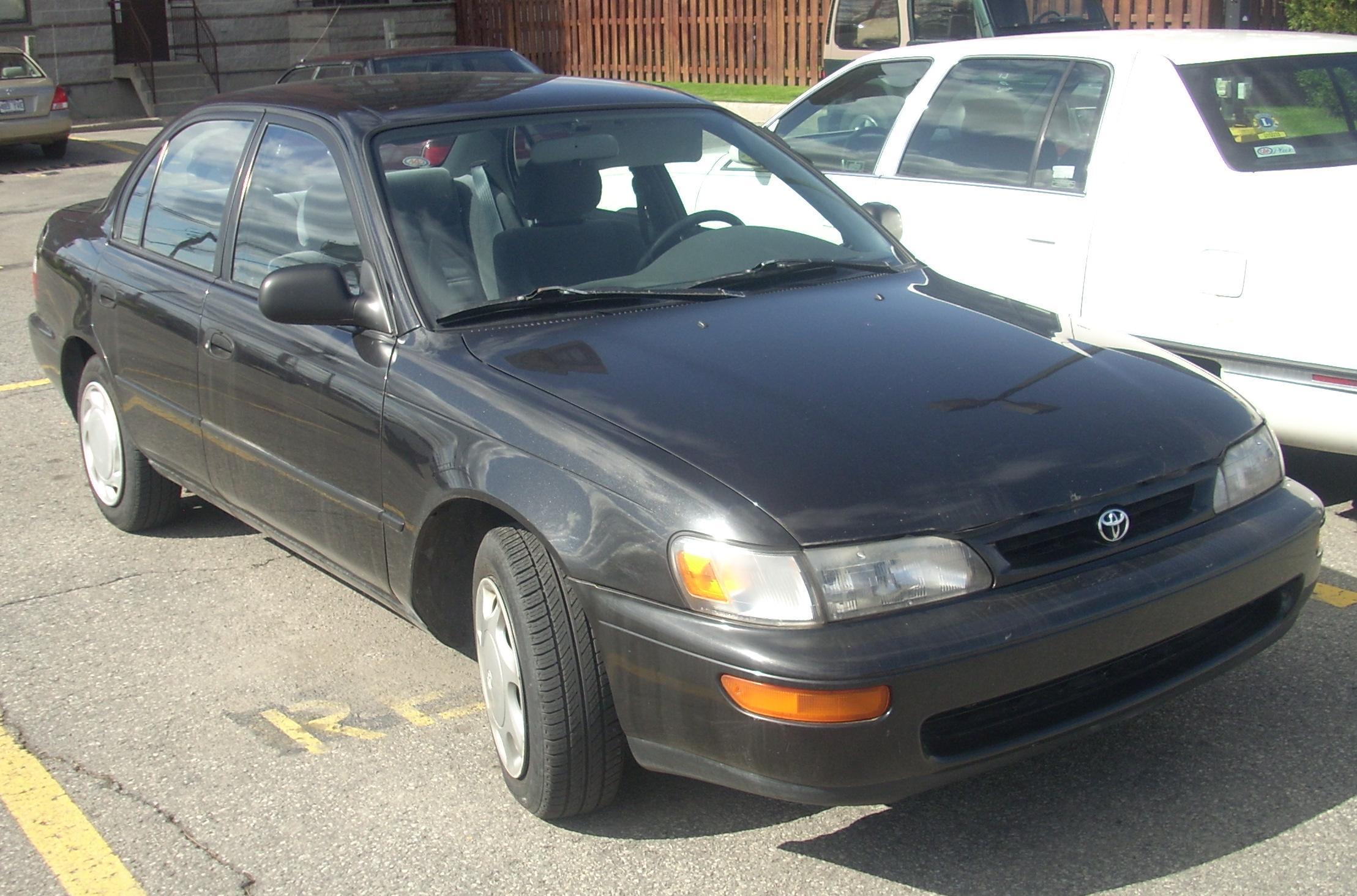 File:'96-'97 Toyota Corolla Sedan.JPG - Wikimedia Commons