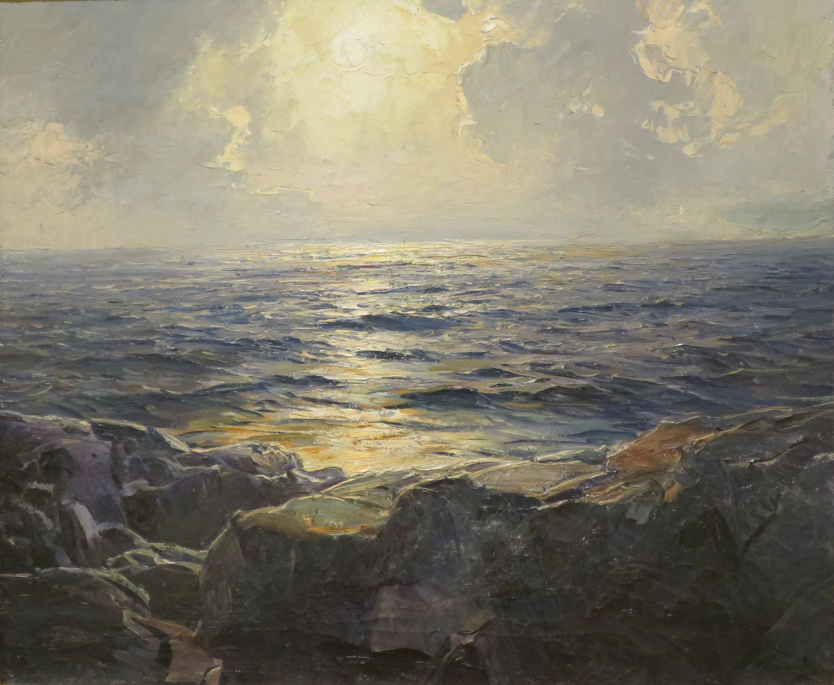S Baker Art Oil Painting