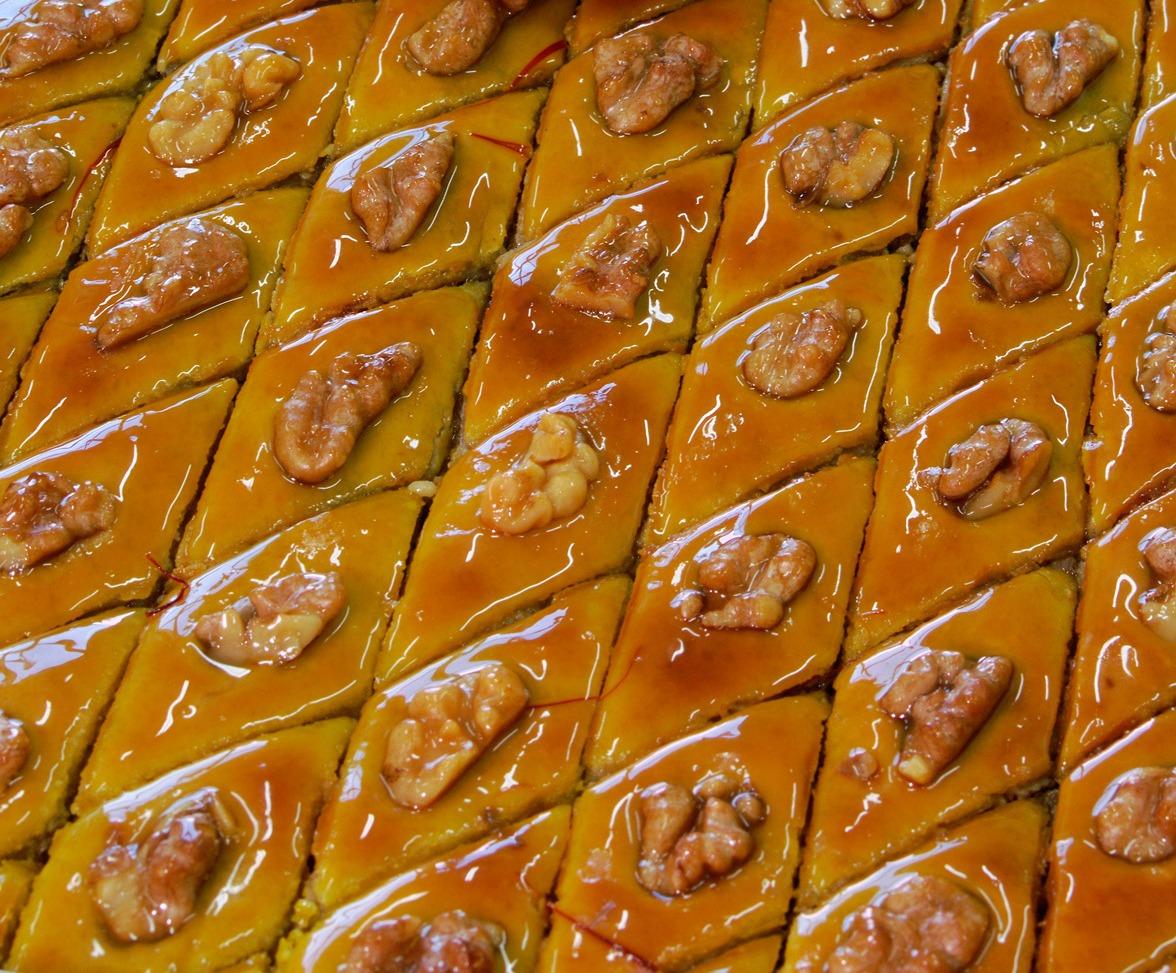 Пахлава азербайджанская рецепт с фото пошагово