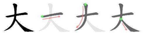 File:大-bw.png - 维基词典,自由的多语言词典