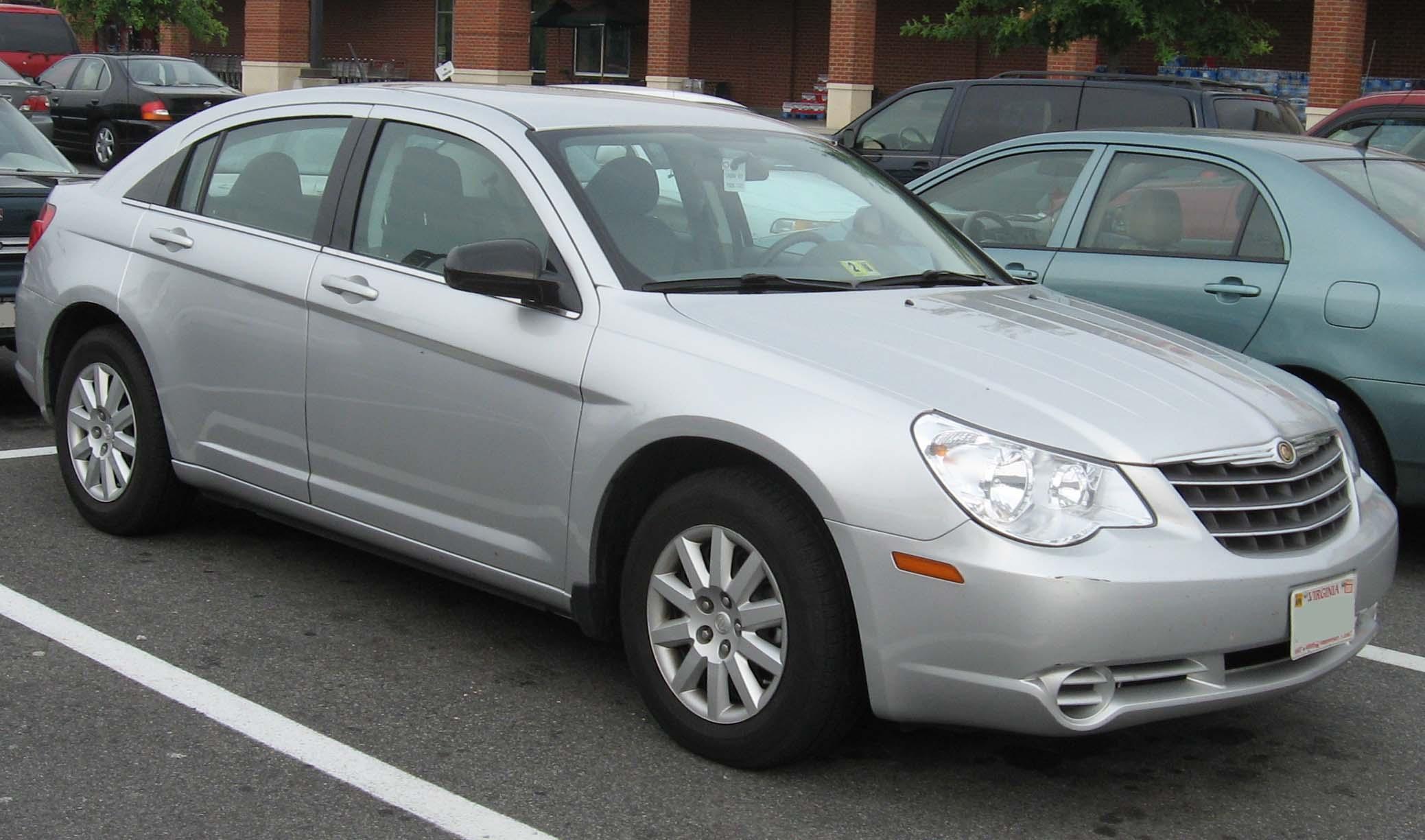 File:07 Chrysler Sebring Sedan.jpg - Wikimedia Commons