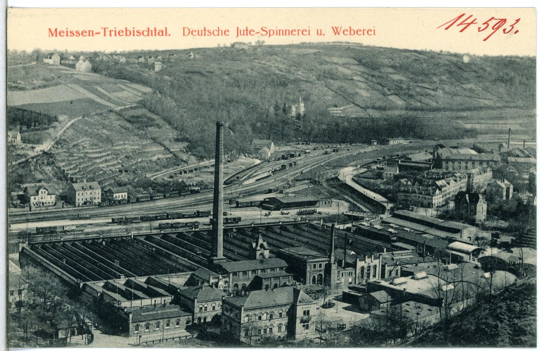 File:14593-Meißen-1912-Triebischtal - Jute-Spinnerei und Weberei-
