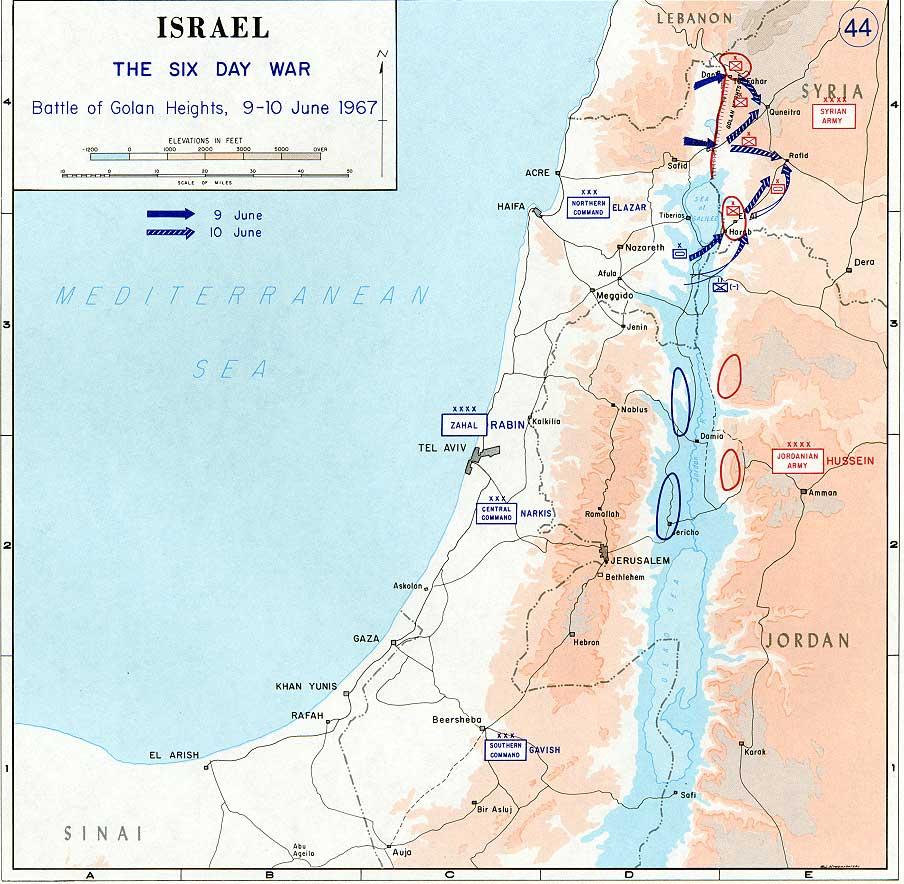 File1967 Six Day War  Battle of Golan Heightsjpg  Wikimedia