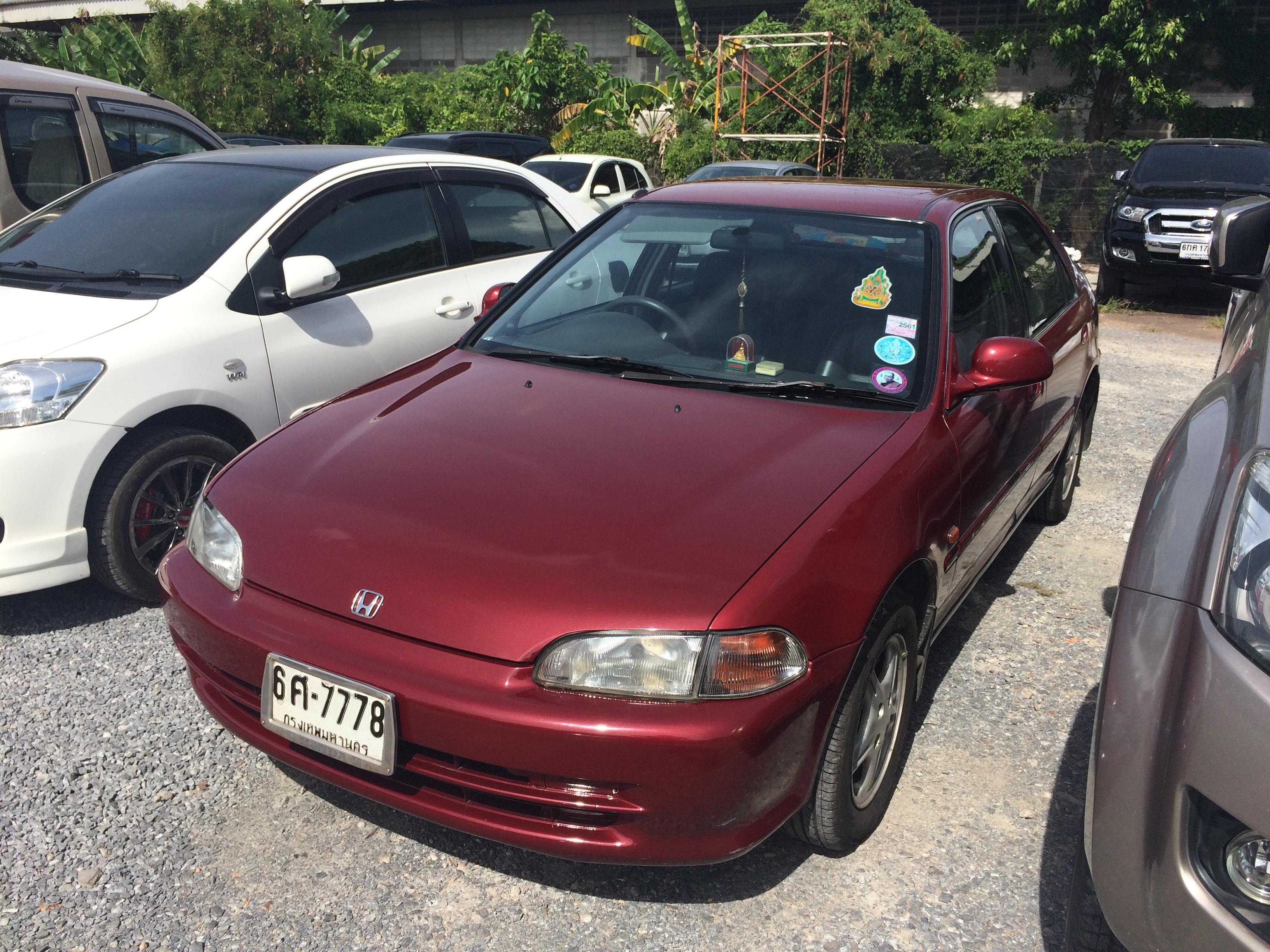 File 1994 1995 Honda Civic Eg Vti E Sedan 12 08 2017 01 Jpg Wikimedia Commons