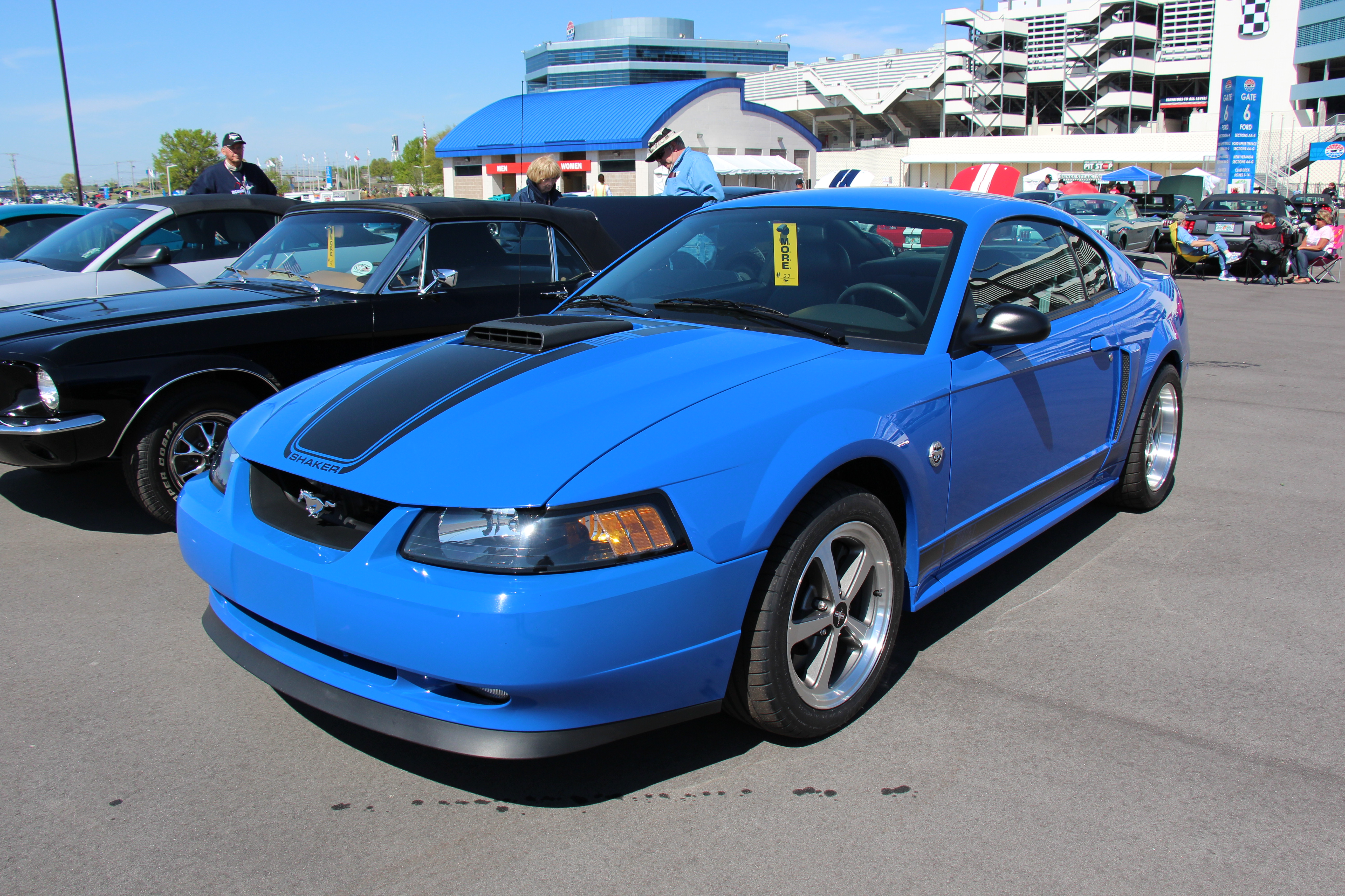 File:2003 Ford Mustang Mach 1 Coupe (14442259843).jpg - Wikimedia Commons