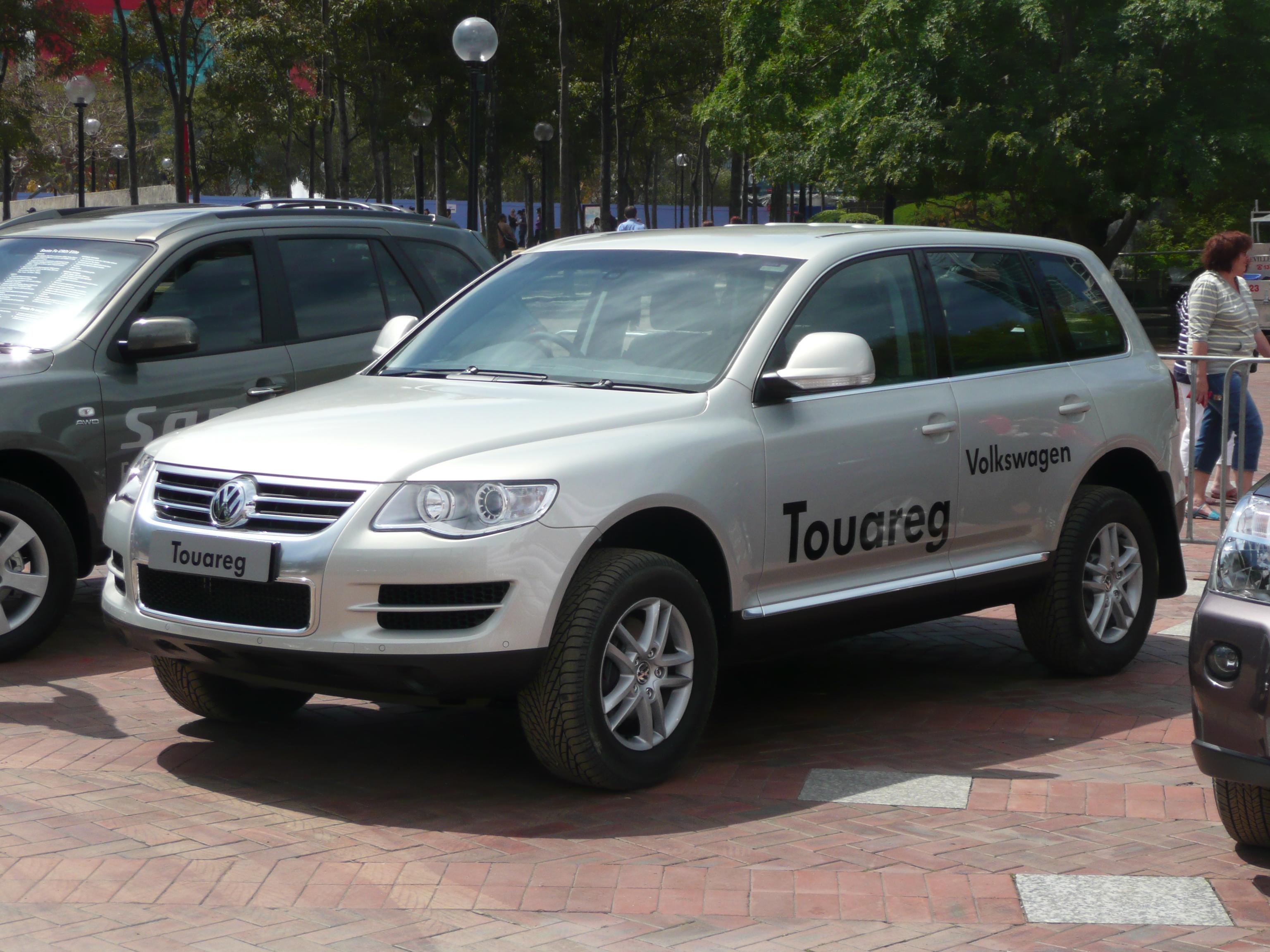File 2007 2008 Volkswagen Touareg 3 6i 01 Jpg Wikimedia