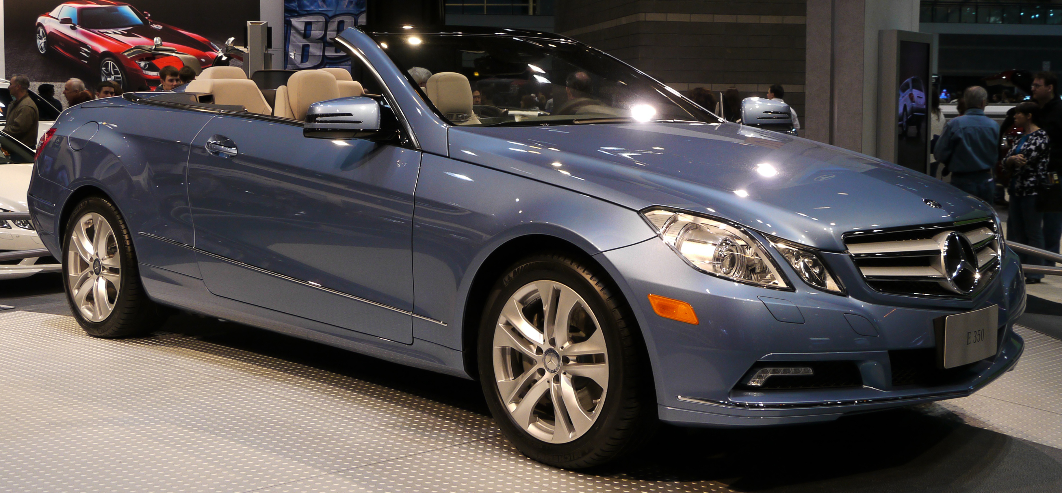 Image gallery mercedes 350 convertible for 2010 mercedes benz clk350