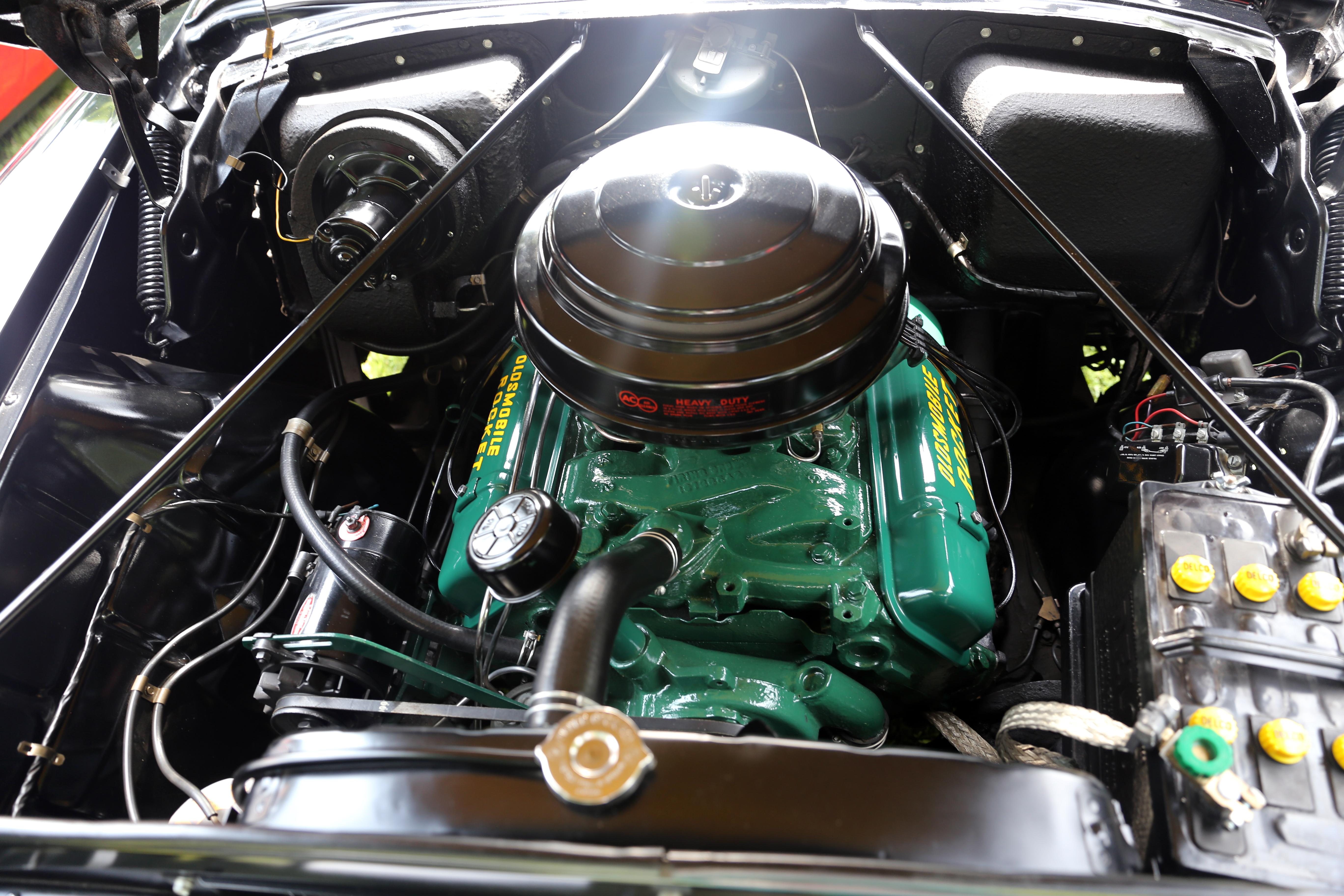 File 324ci Oldsmobile Rocket V8 Engine  1954-56 Jpg