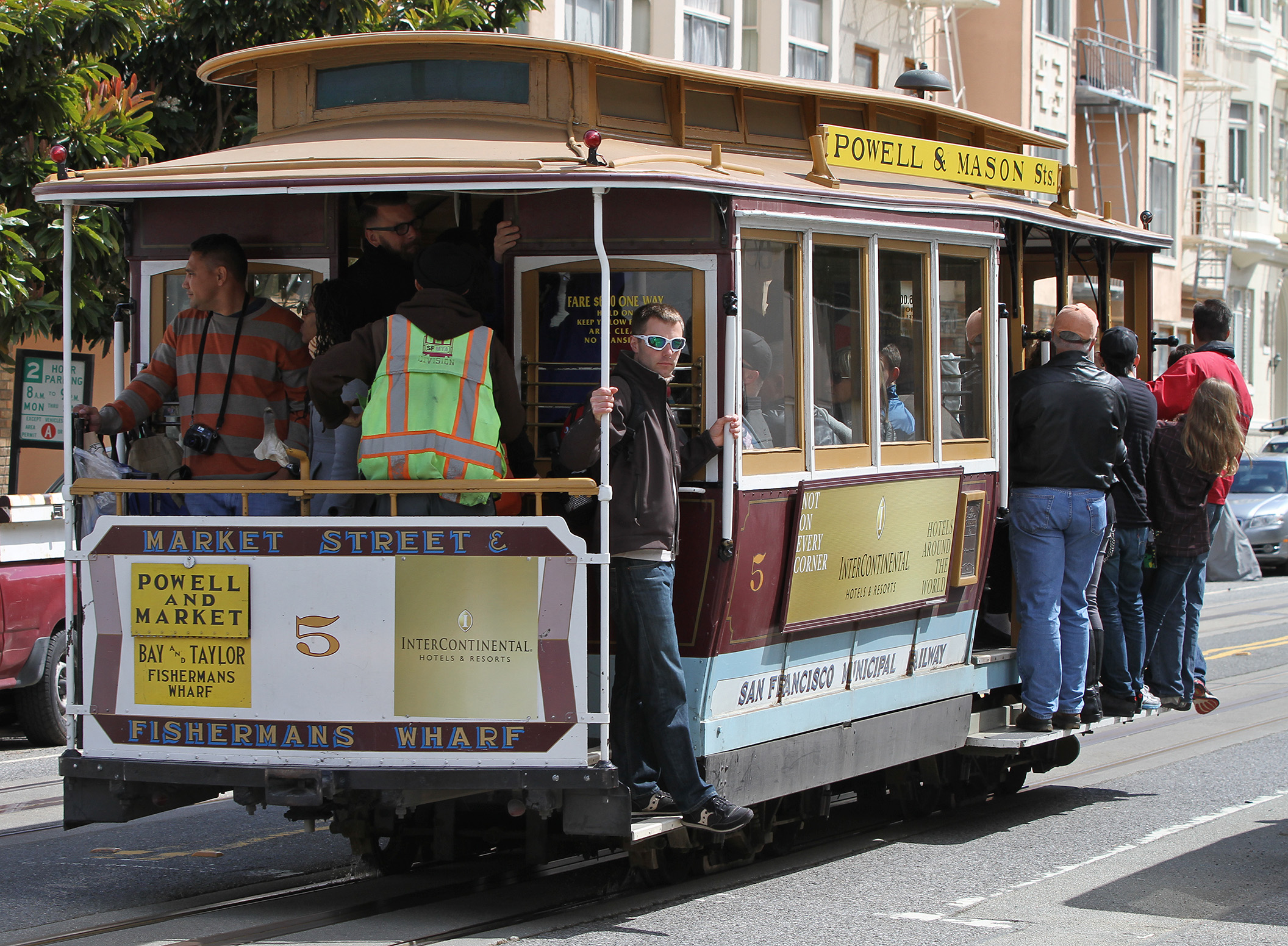Electric Cable Cars San Francisco