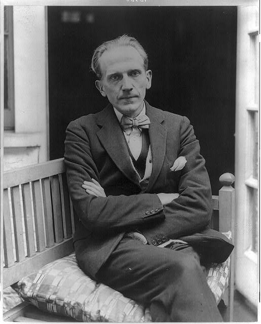 A.A. Milne, 1922 (Library of Congress, Public Domain)