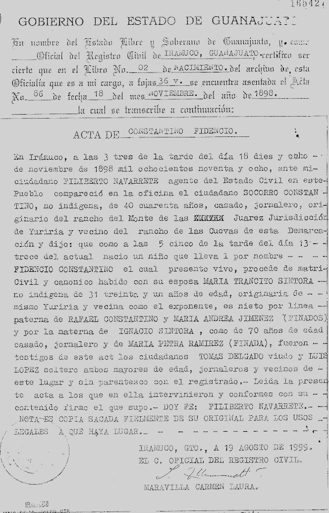 Niño Fidencio Wikipedia La Enciclopedia Libre