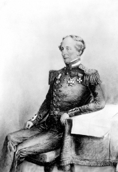 """Original title:    Description English: Painting of Rear Admiral Robert Lambert Baynes of H.M.S. Ganges. Source: Website: http://www.bcarchives.gov.bc.ca/sn-2B78A2C/cgi-bin/text2html/.visual/img_txt/dir_92/pdp00253.txt Image: http://www.bcarchives.gov.bc.ca/cgi-bin/www2i/.visual/img_med/dir_92/pdp00253.gif Author: Undetermined, according to source archive Date: """"185-"""", according to source archive Note: Public domain work despite the claims of BC Archives Date 27 April 2008(2008-04-27) (original upload date) Source Transferred from en.wikipedia; transferred to Commons by User:Sreejithk2000 using CommonsHelper. Author Original uploader was Skookum1 at en.wikipedia Permission (Reusing this file) PD-CANADA."""