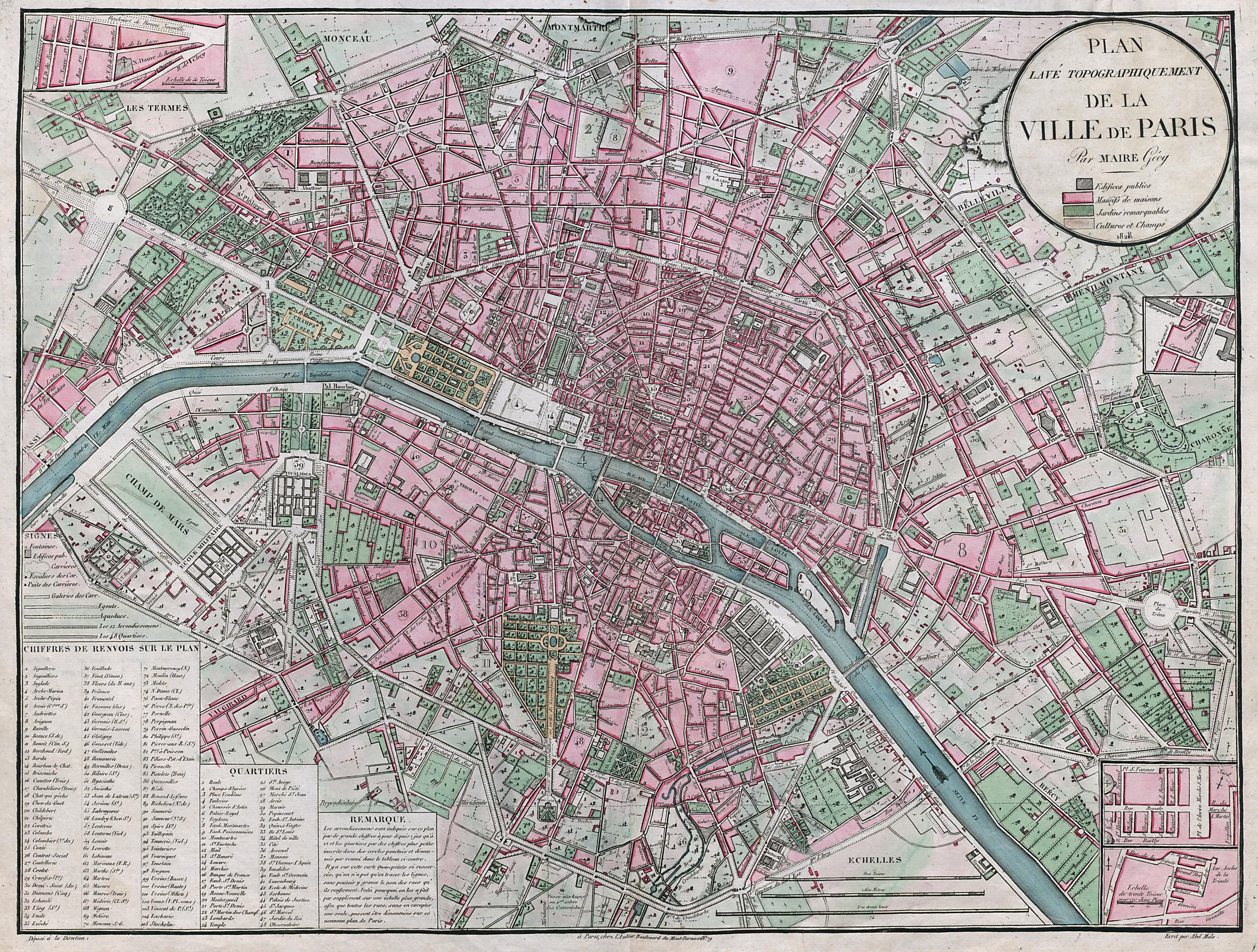 FileAtlas administratif de Paris Plan lav topographiquement – Plan De Paris Map
