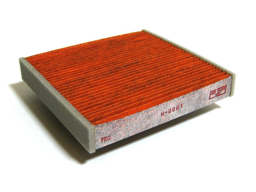 Air filter used to improve indoor air quality