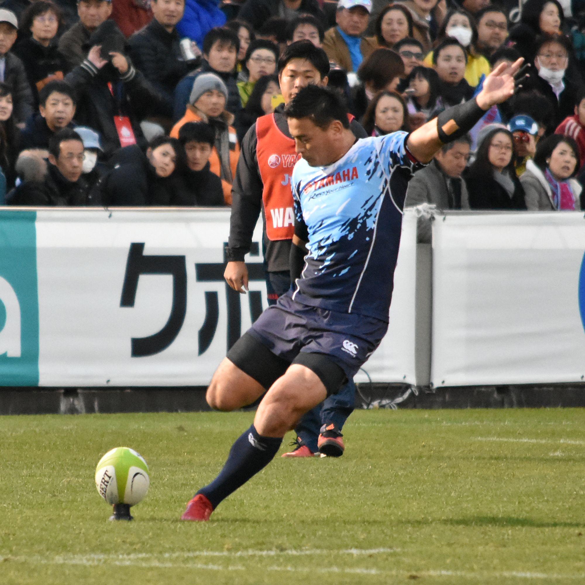 五郎丸歩 , Wikipedia
