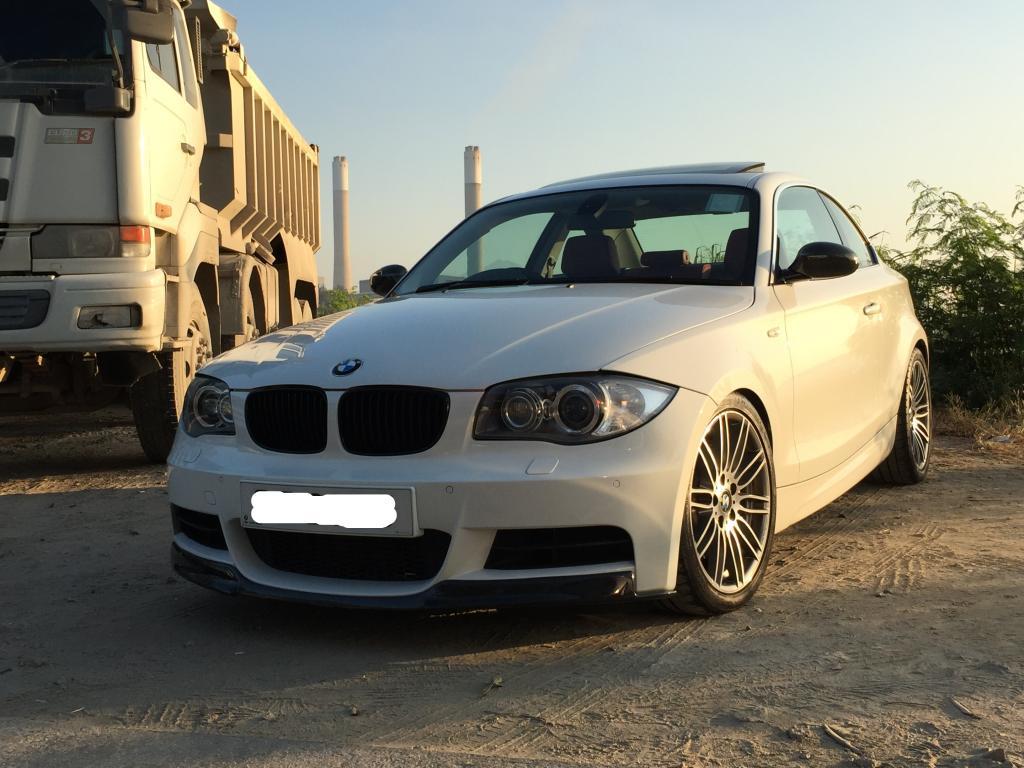 FileBMW I In Alpine White With BMW Performance Upgradesjpg - Bmw 135i performance upgrades