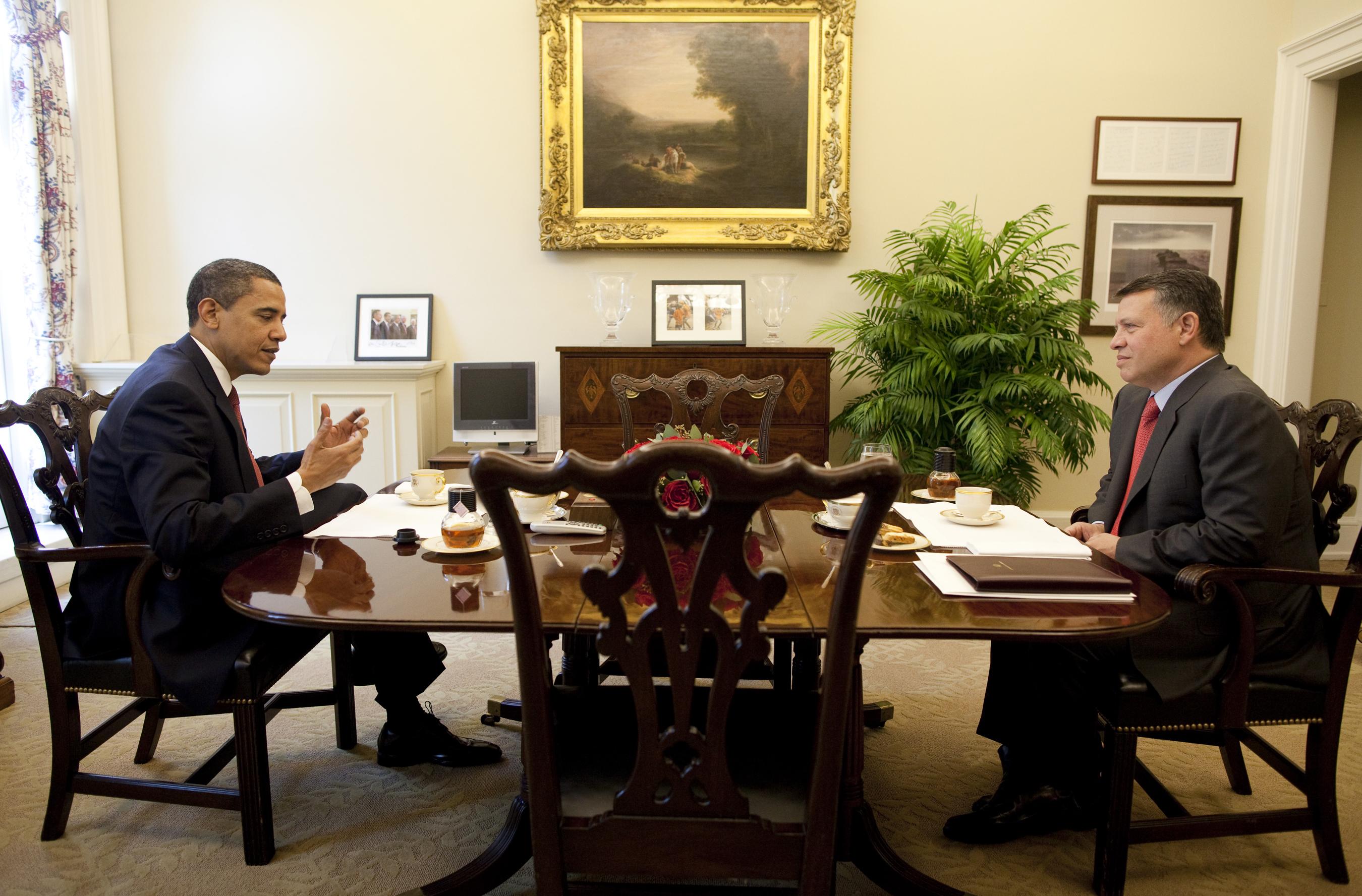 Obama White House Media Room
