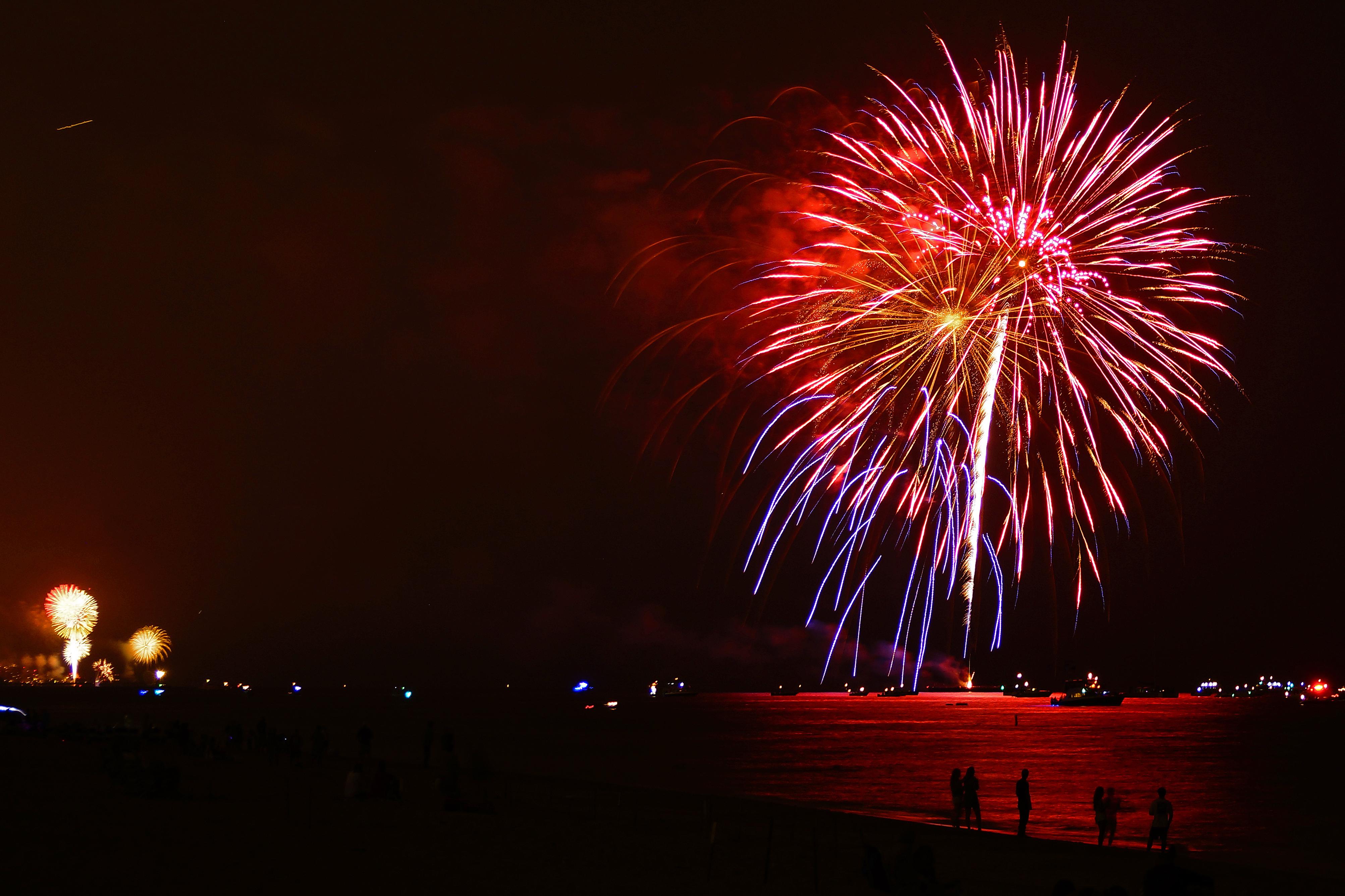Fireworks Palm Beach Florida