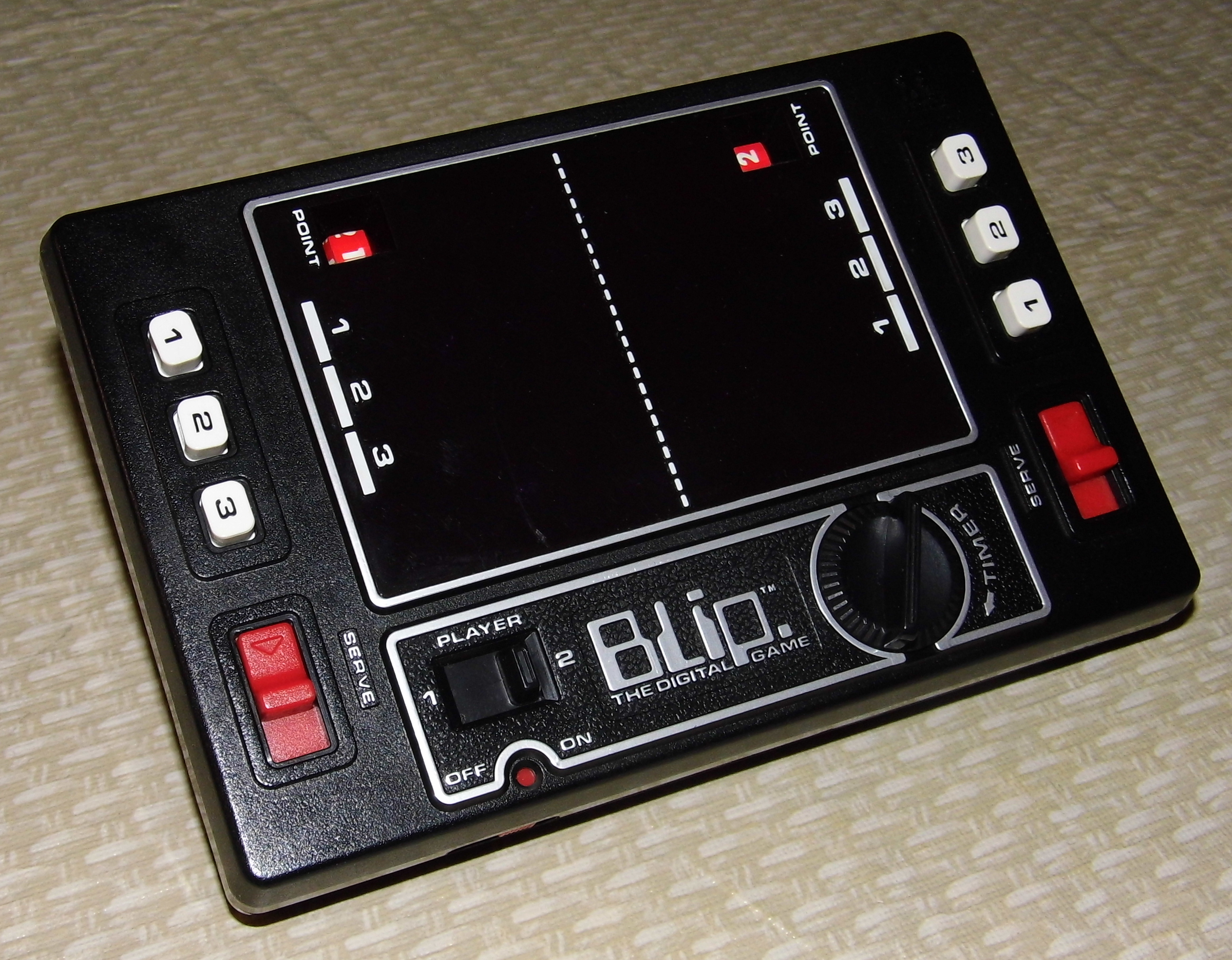 fileblip the digital game by tomy model no 7018