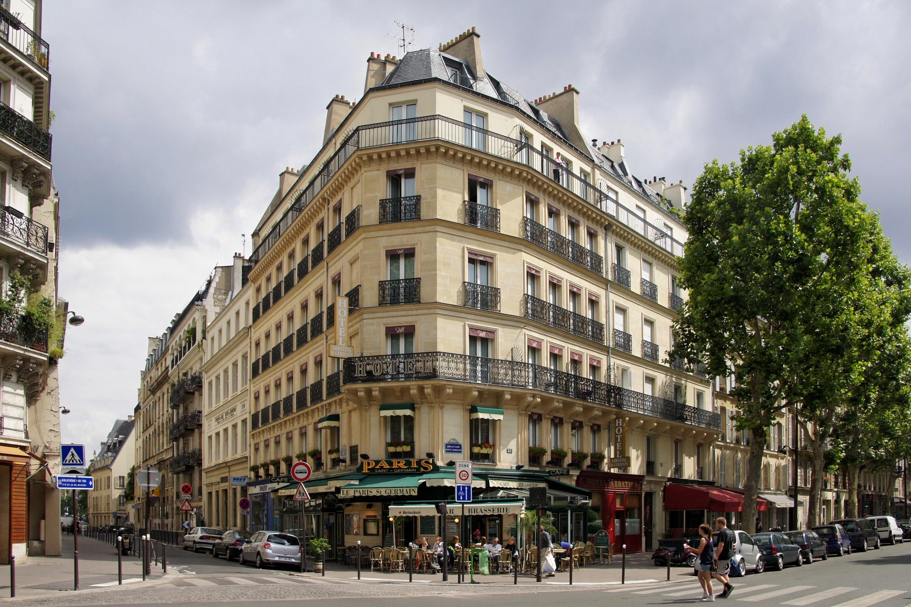 Hotel Saint Germain Des Pres Paris France