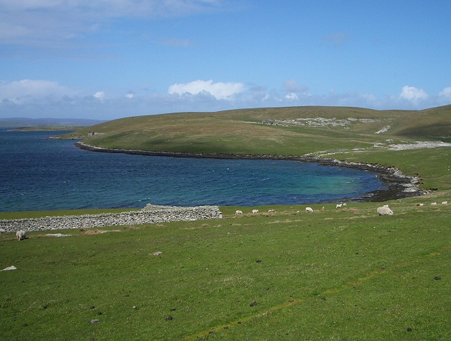 bressay ness and voe It is located on the island of bressay at kirkabister ness overlooking bressay voe of cullingsburgh is a large sea loch off the shetland island of bressay , voe.