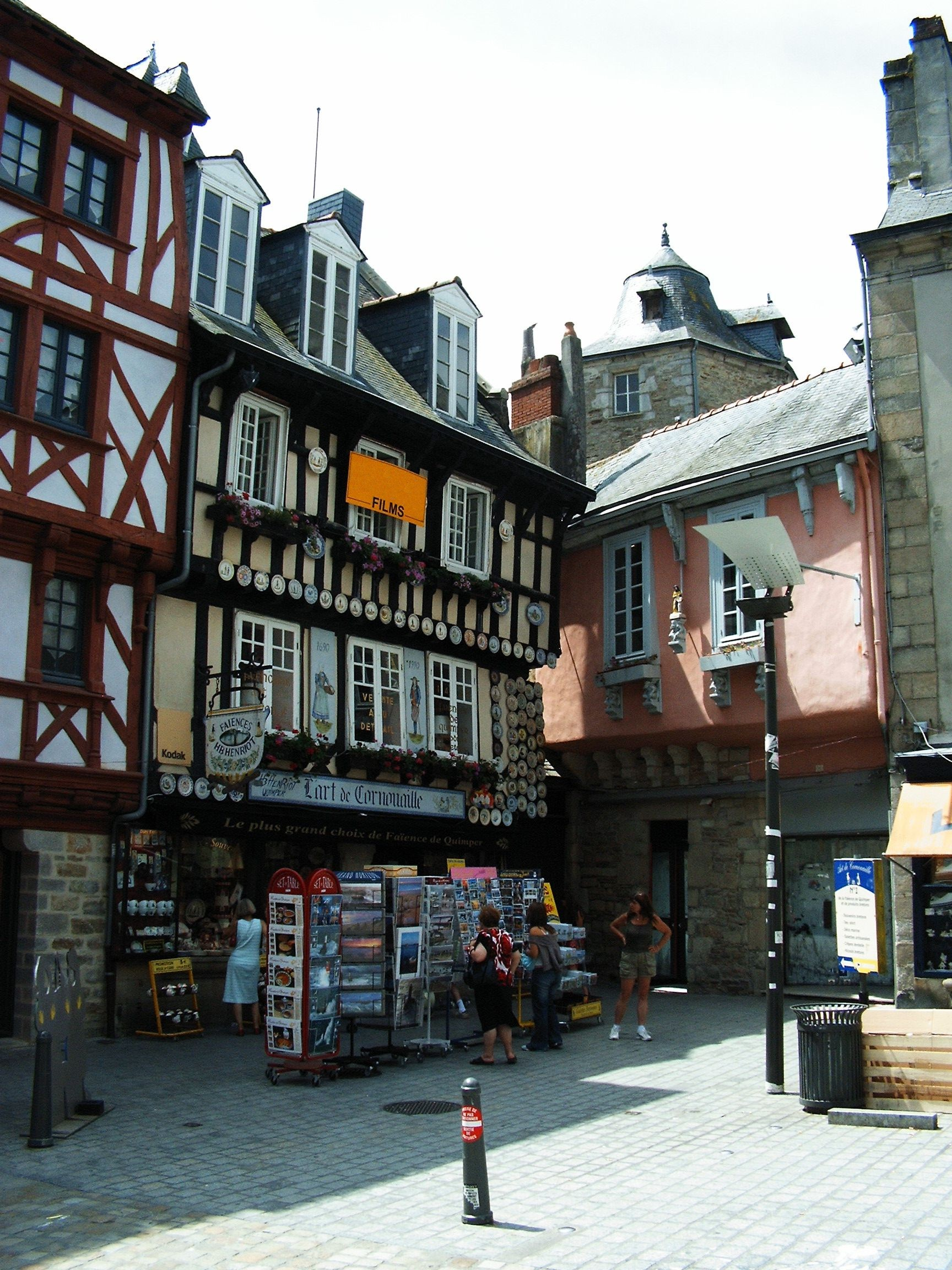 Quimper France  city photos : Bretagne Finistere Quimper 20055 Wikipedia, the free ...