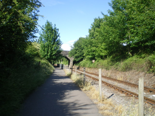 Bristol-Bath Railway Path - geograph.org.uk - 615951