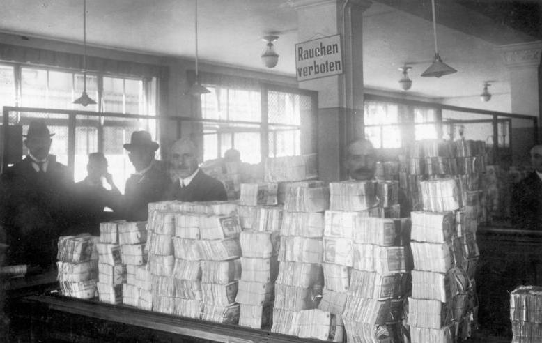 Hyperinflation in the Weimar Republic