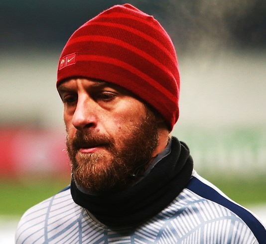 The 35-year old son of father Alberto De Rossi and mother(?) Daniele De Rossi in 2018 photo. Daniele De Rossi earned a  million dollar salary - leaving the net worth at 25 million in 2018