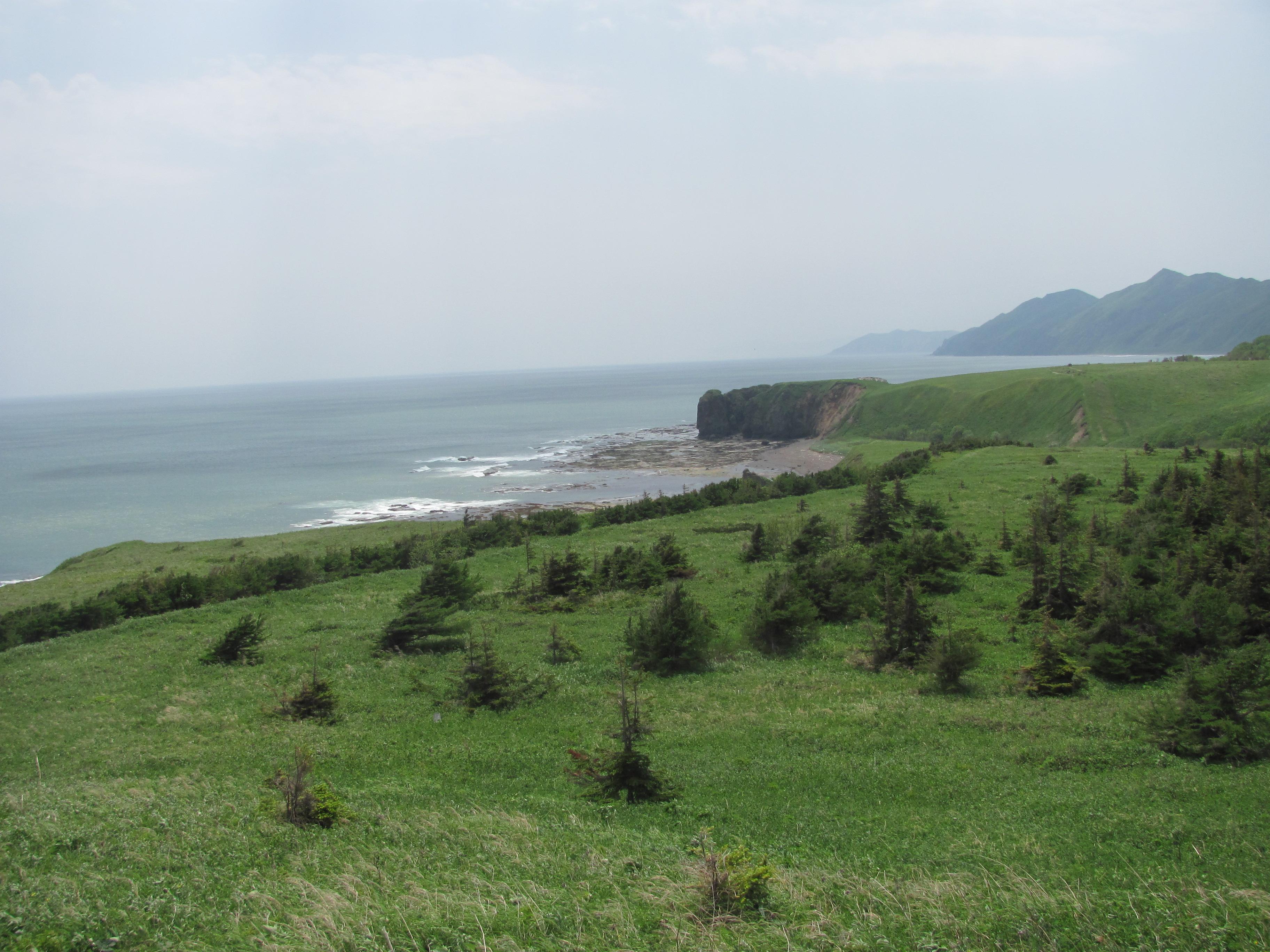 Cape Tihii. Sakhalin coast of Sea of Okhotsk.JPG