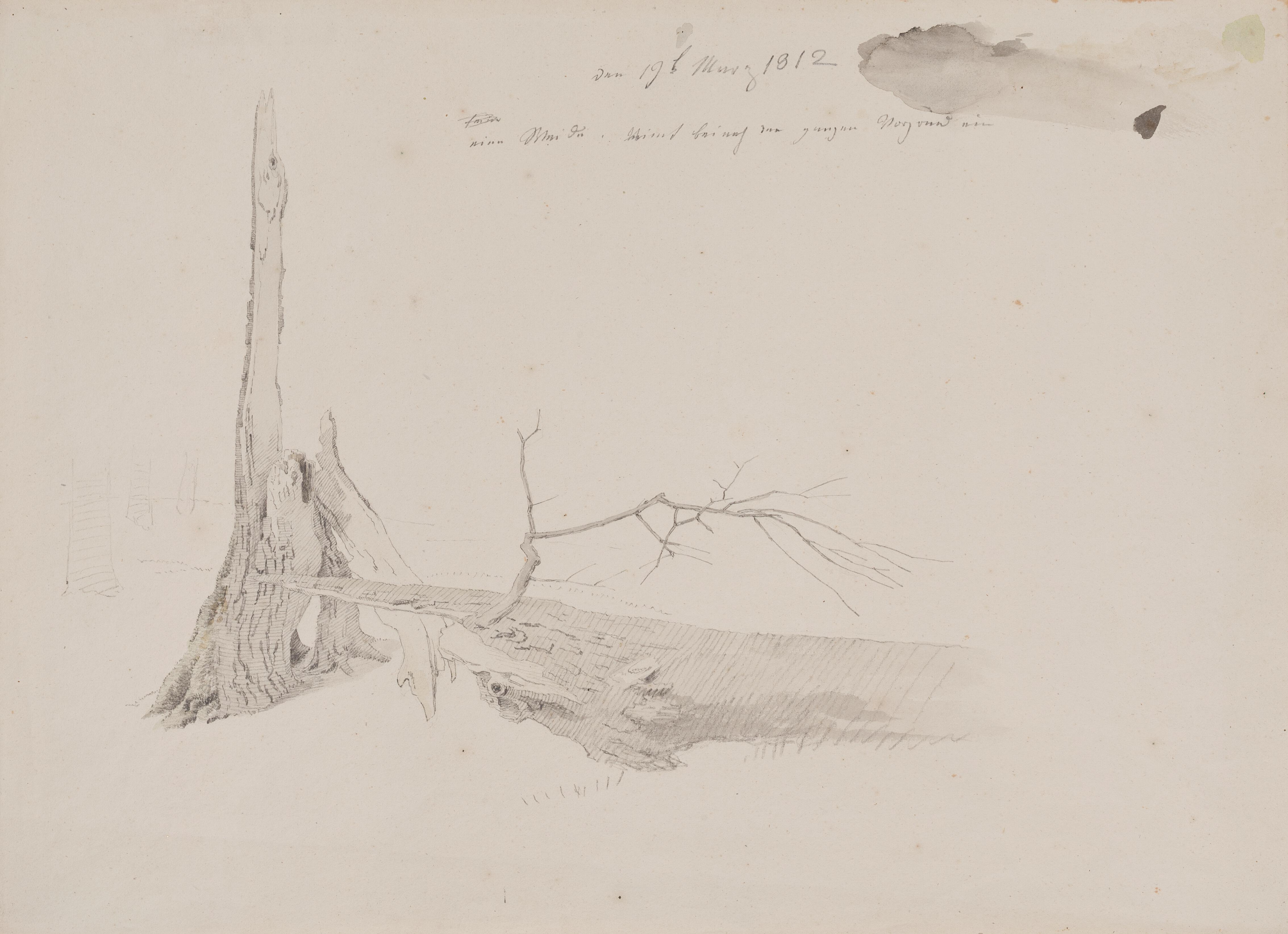 File Caspar David Friedrich Pahyl Stromu 1812 Tuzka Akvarel 260