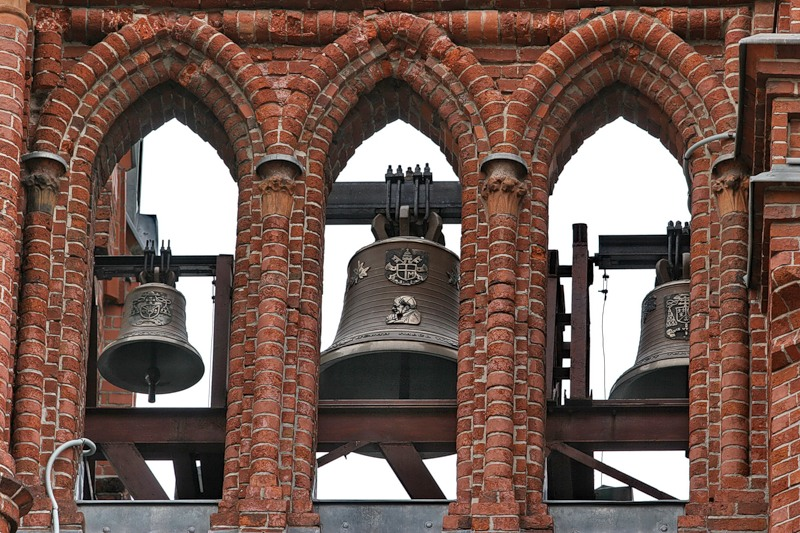 Catholic Cathedral Moscow Bells