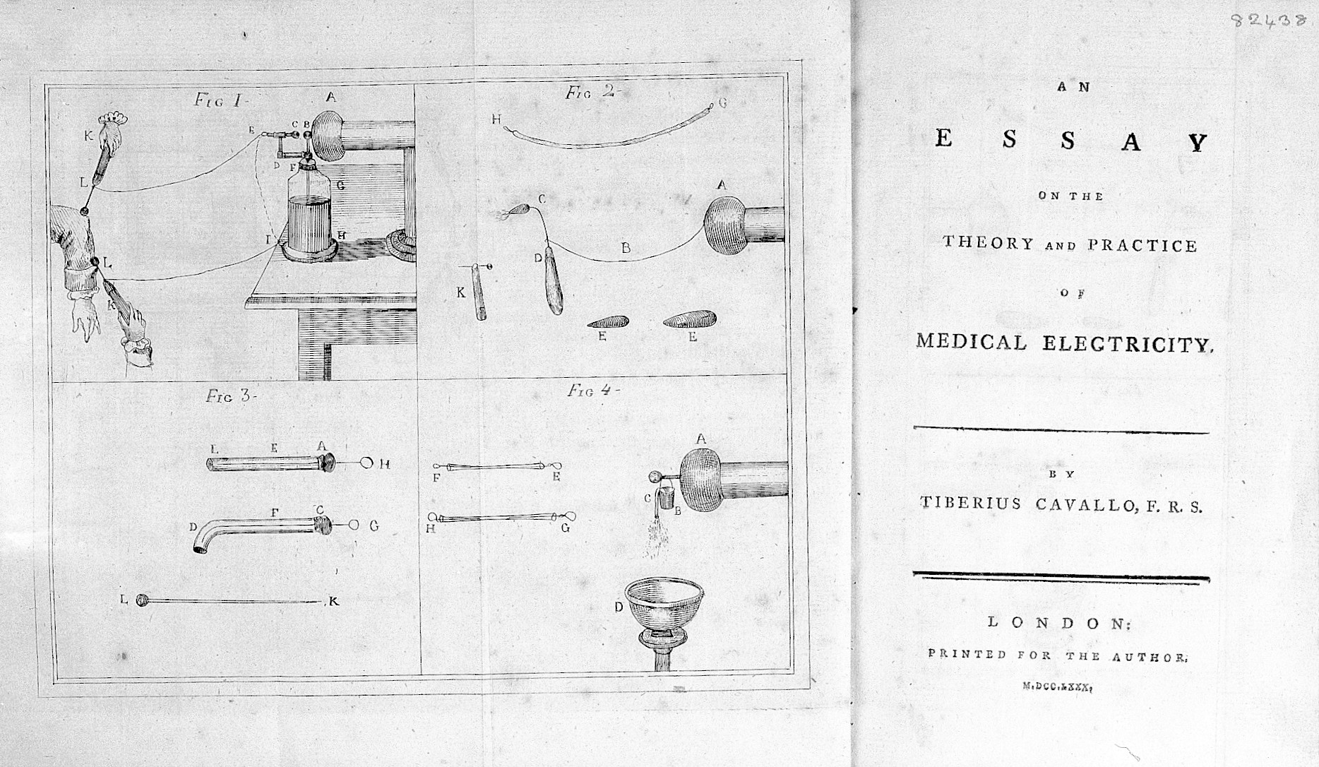 file cavallo essay on medical electricity 1780 title page file cavallo essay on medical electricity 1780 title page