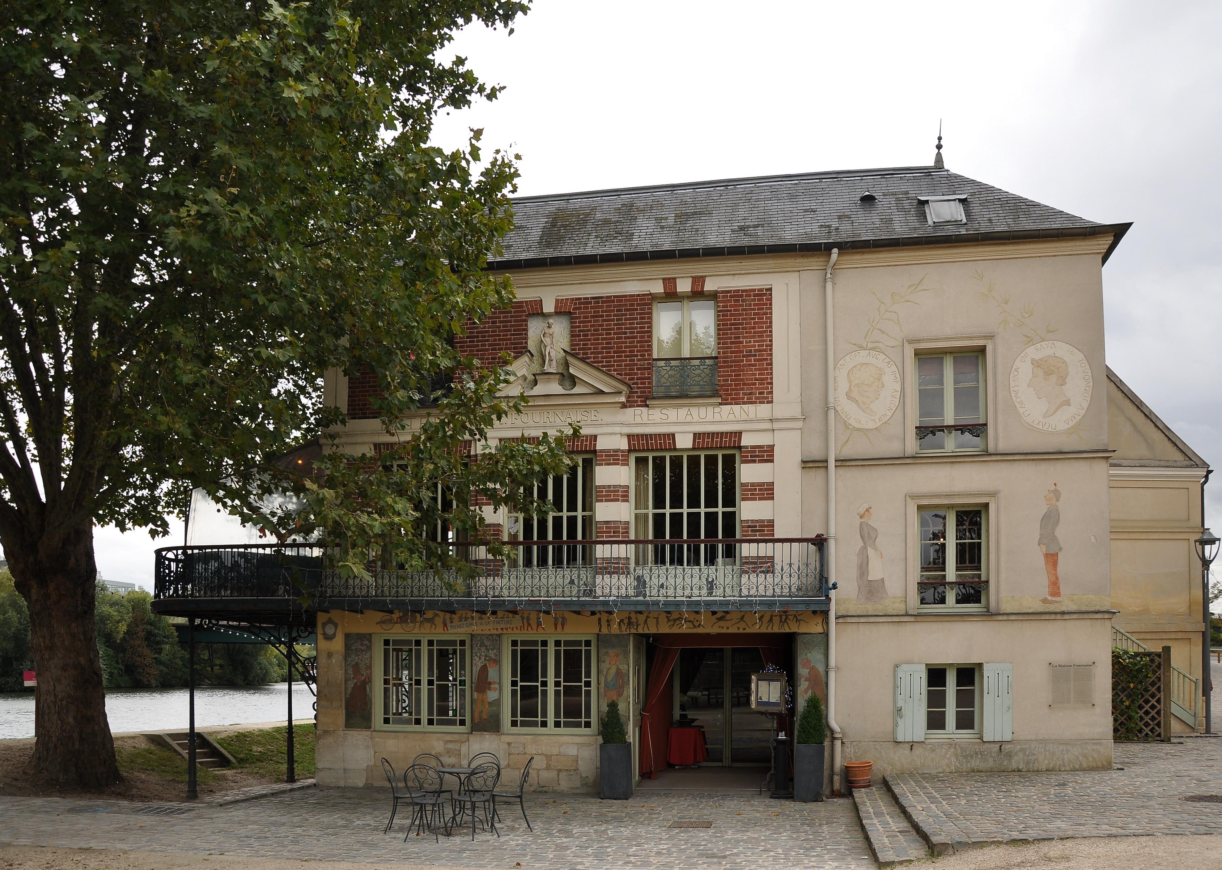 Fichier chatou la maison fournaise 002 jpg wikip dia for A la maison restaurant