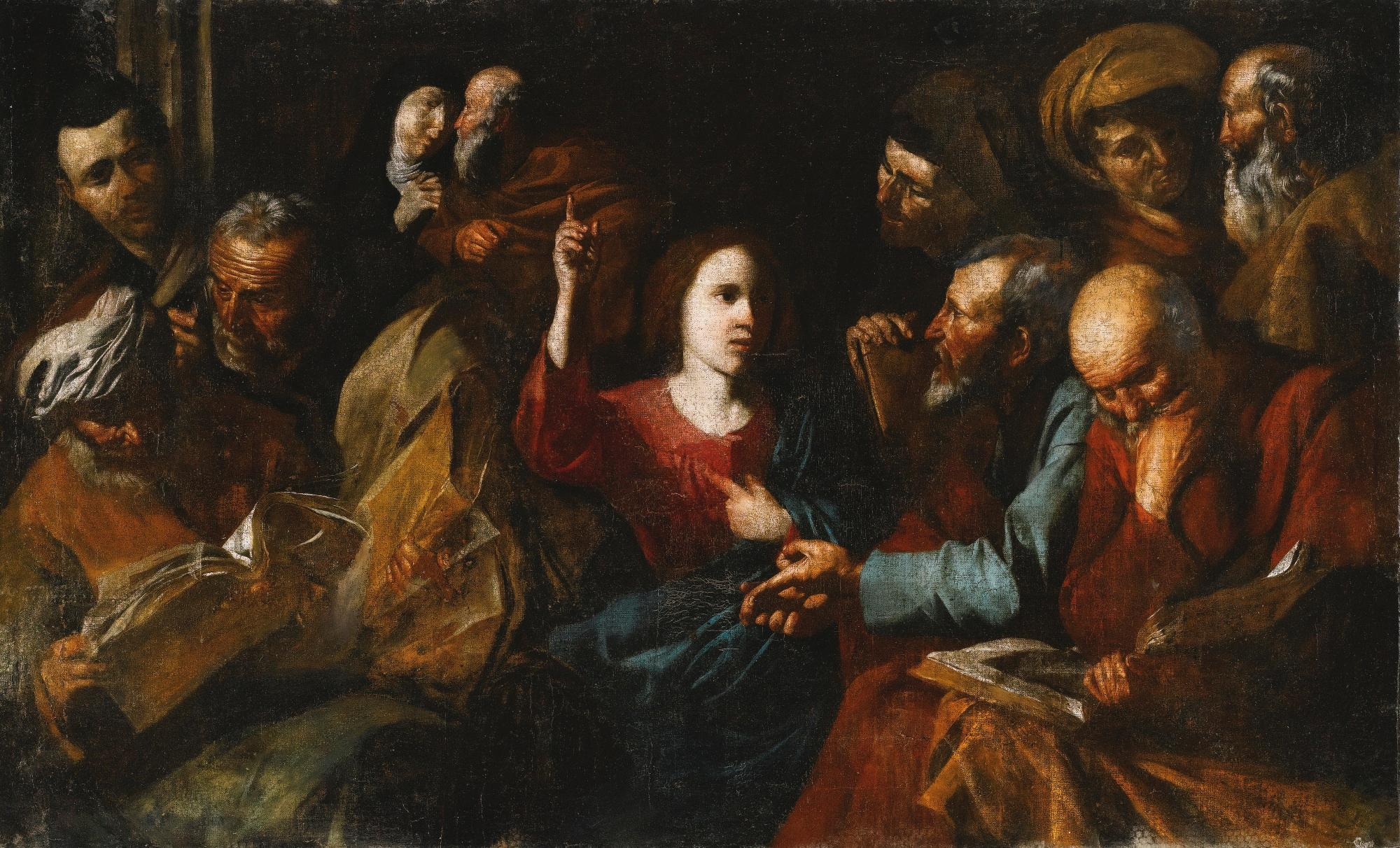 File:Christ Among The Doctors (Ribera).jpg - Wikimedia Commons