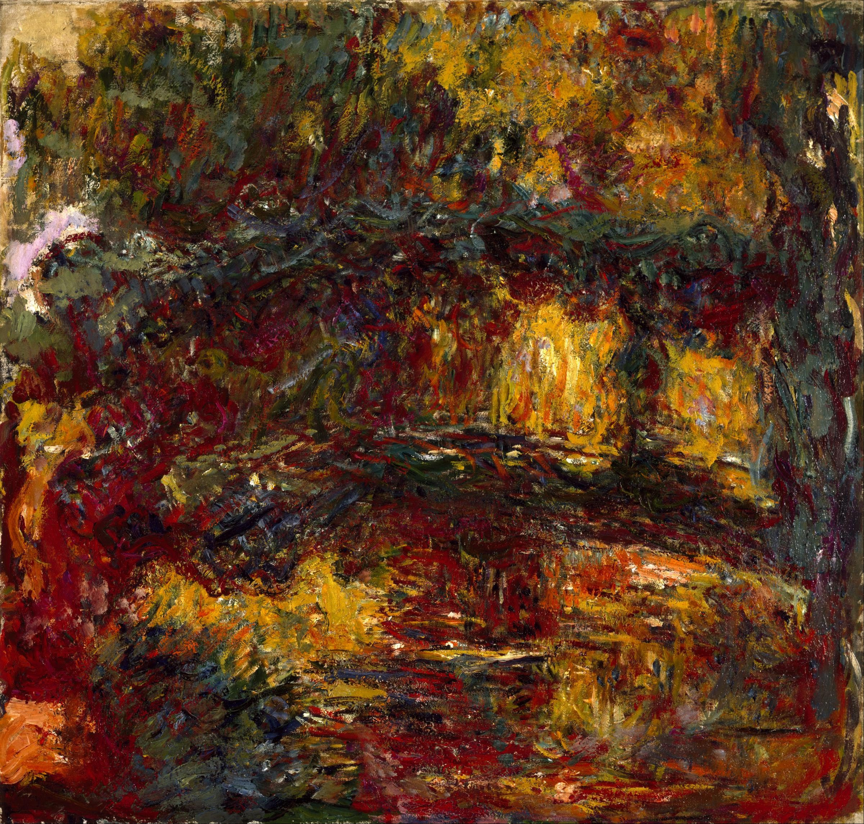 Fichier:Claude Monet - The Japanese Footbridge, Giverny - Google Art  Project.jpg — Wikipédia