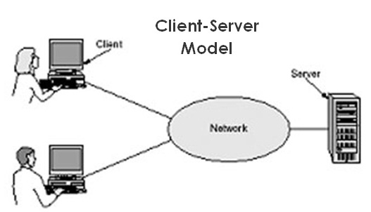 Dedicated server network in computer l