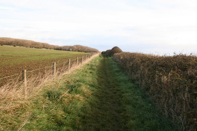 Coast path to St Donat's - geograph.org.uk - 1057493